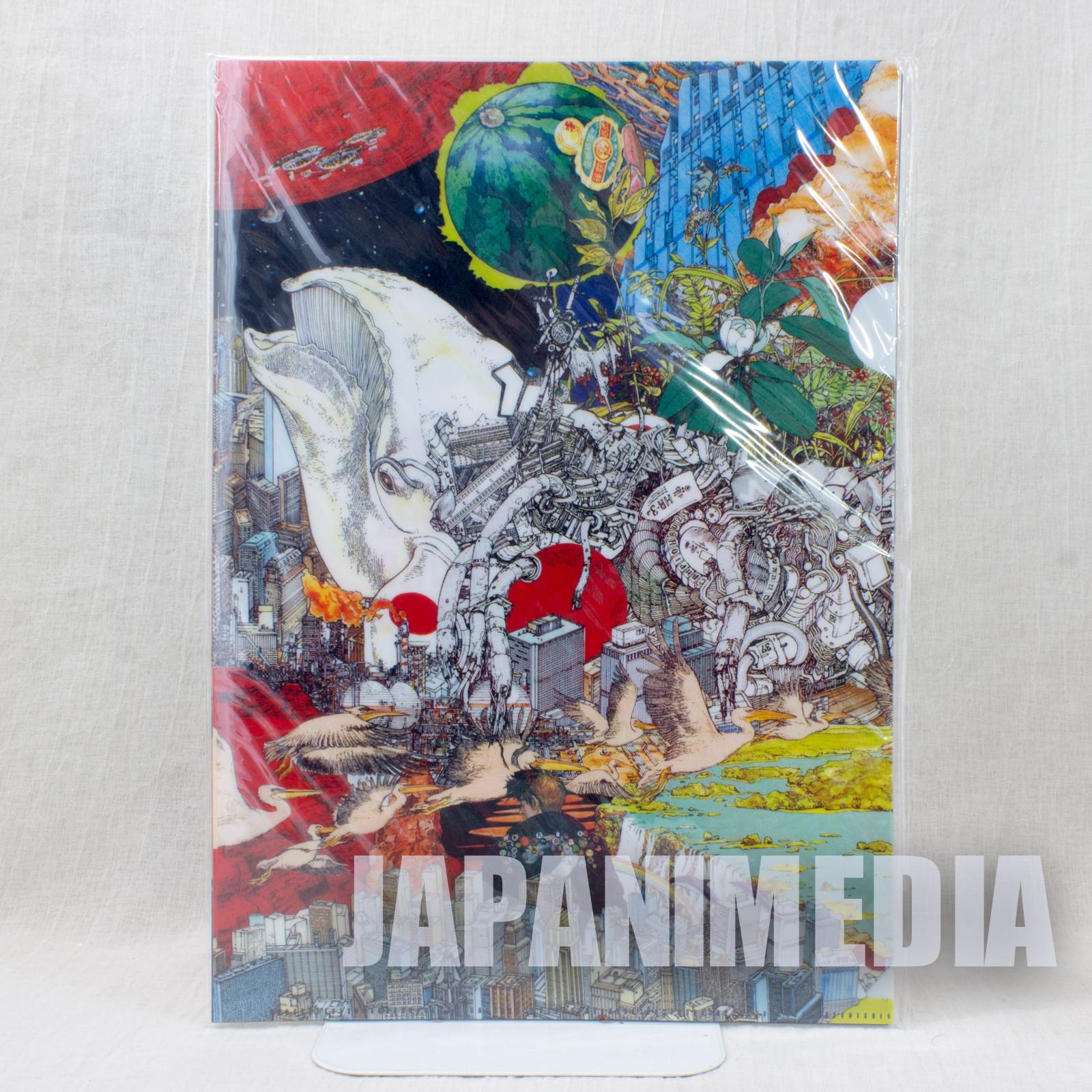 Katsuhiro Otomo GENGA Exhibition 2012 Clear File Folder 4pc Set AKIRA