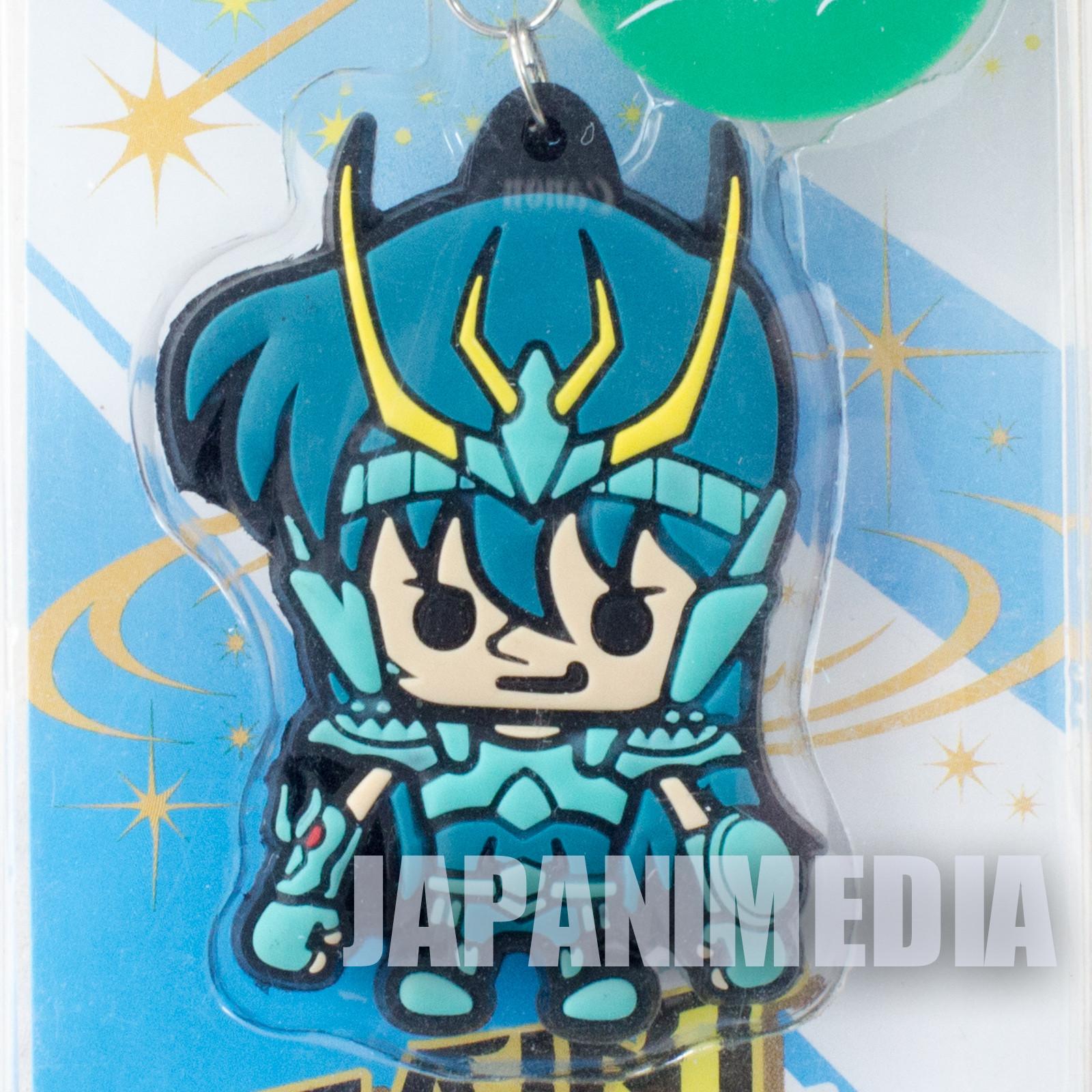 Saint Seiya Dragon Shiryu Panson Works Mascot Rubber Strap JAPAN ANIME