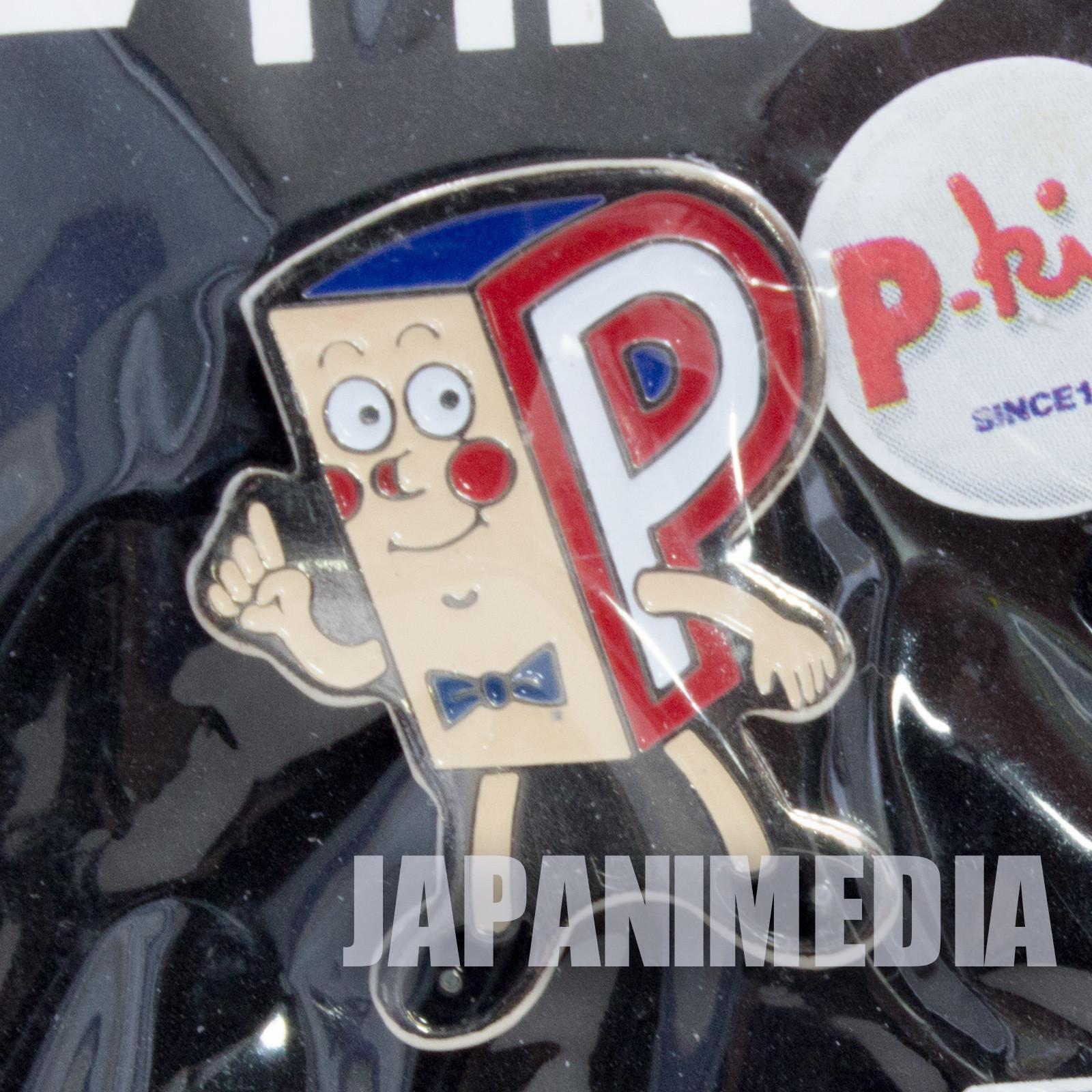 Ponkickies P-kies P-chan Metal Pins JAPAN Ponkikki