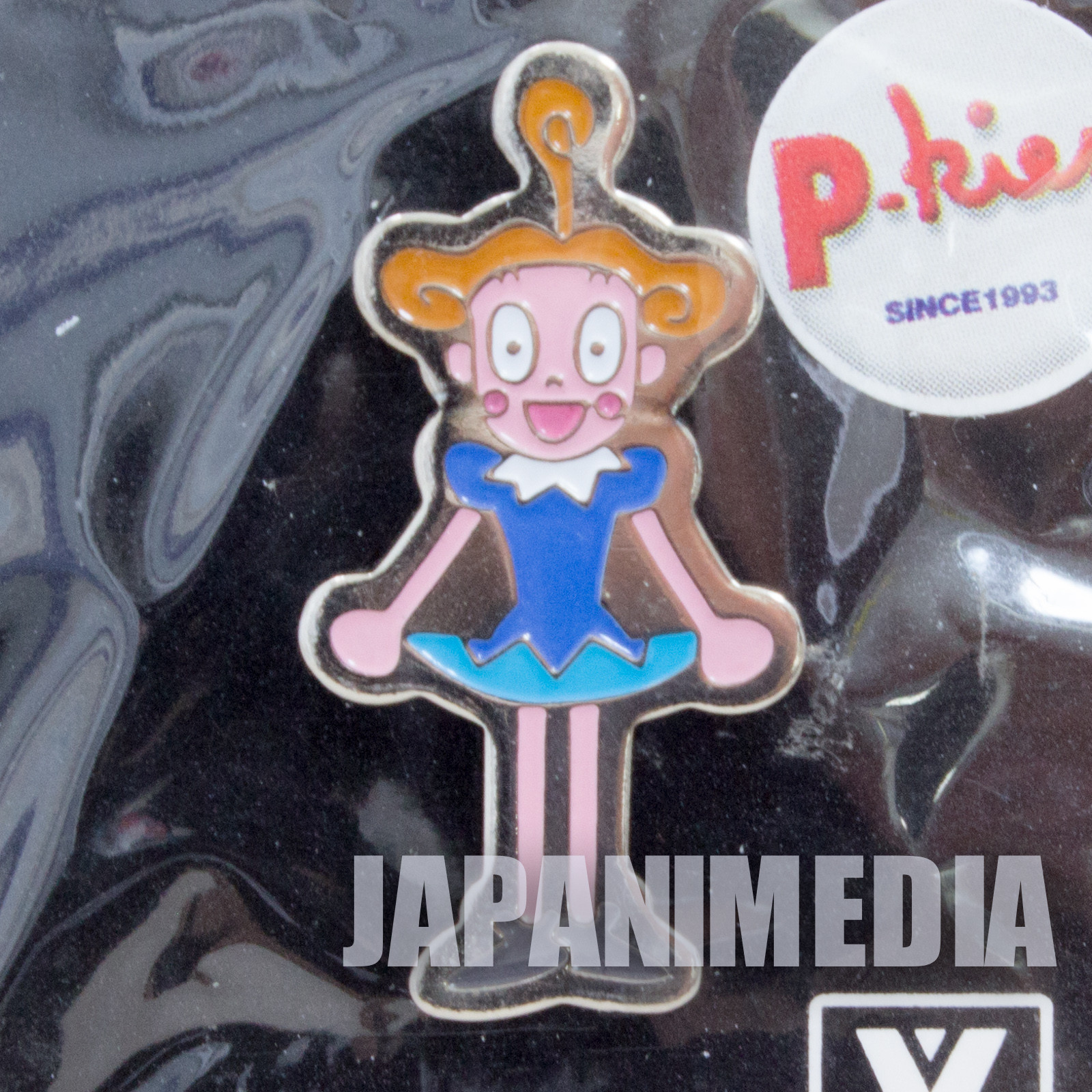 Ponkickies P-kies Connie-chan #1 Metal Pins JAPAN Ponkikki