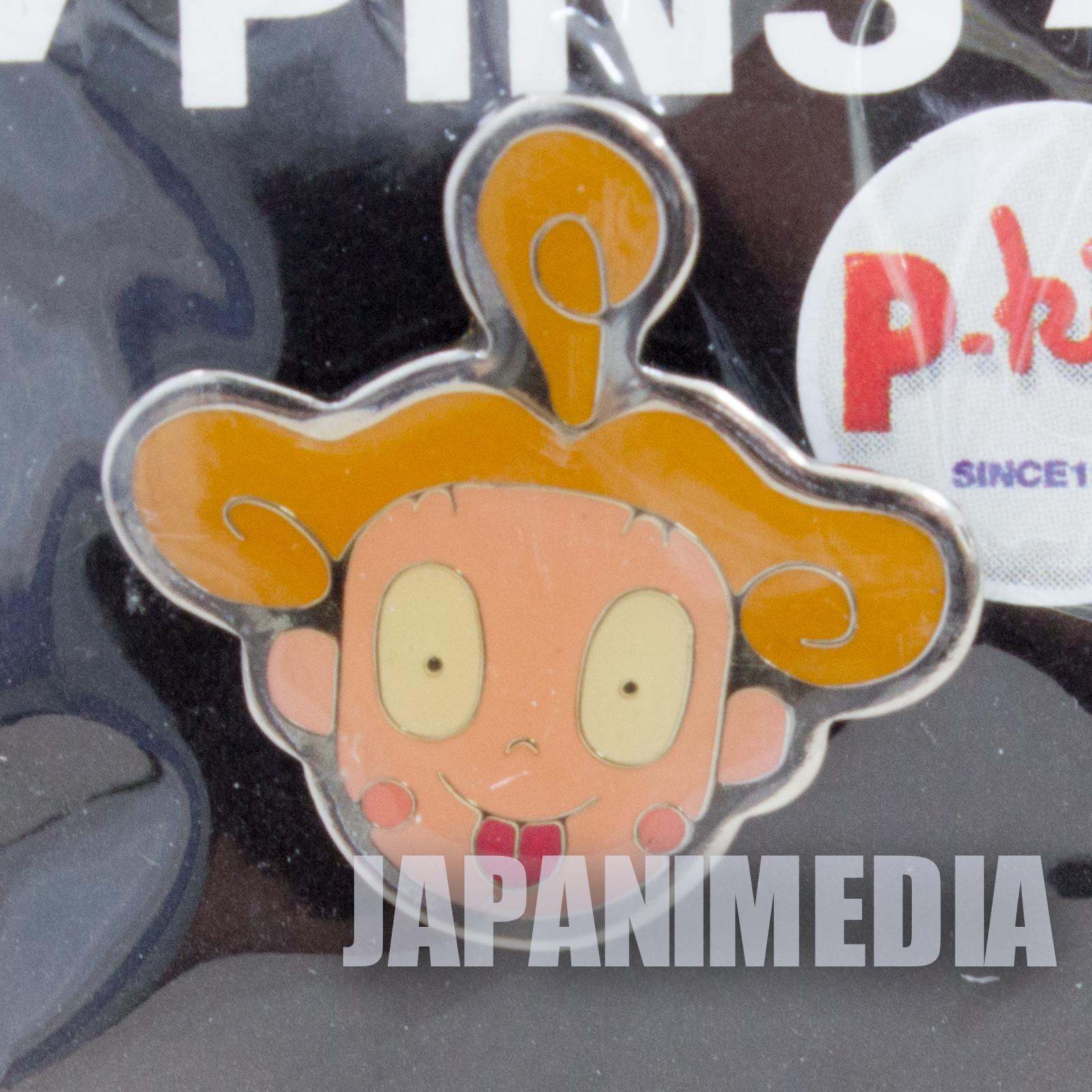 Ponkickies P-kies Connie-chan #2 Metal Pins JAPAN Ponkikki