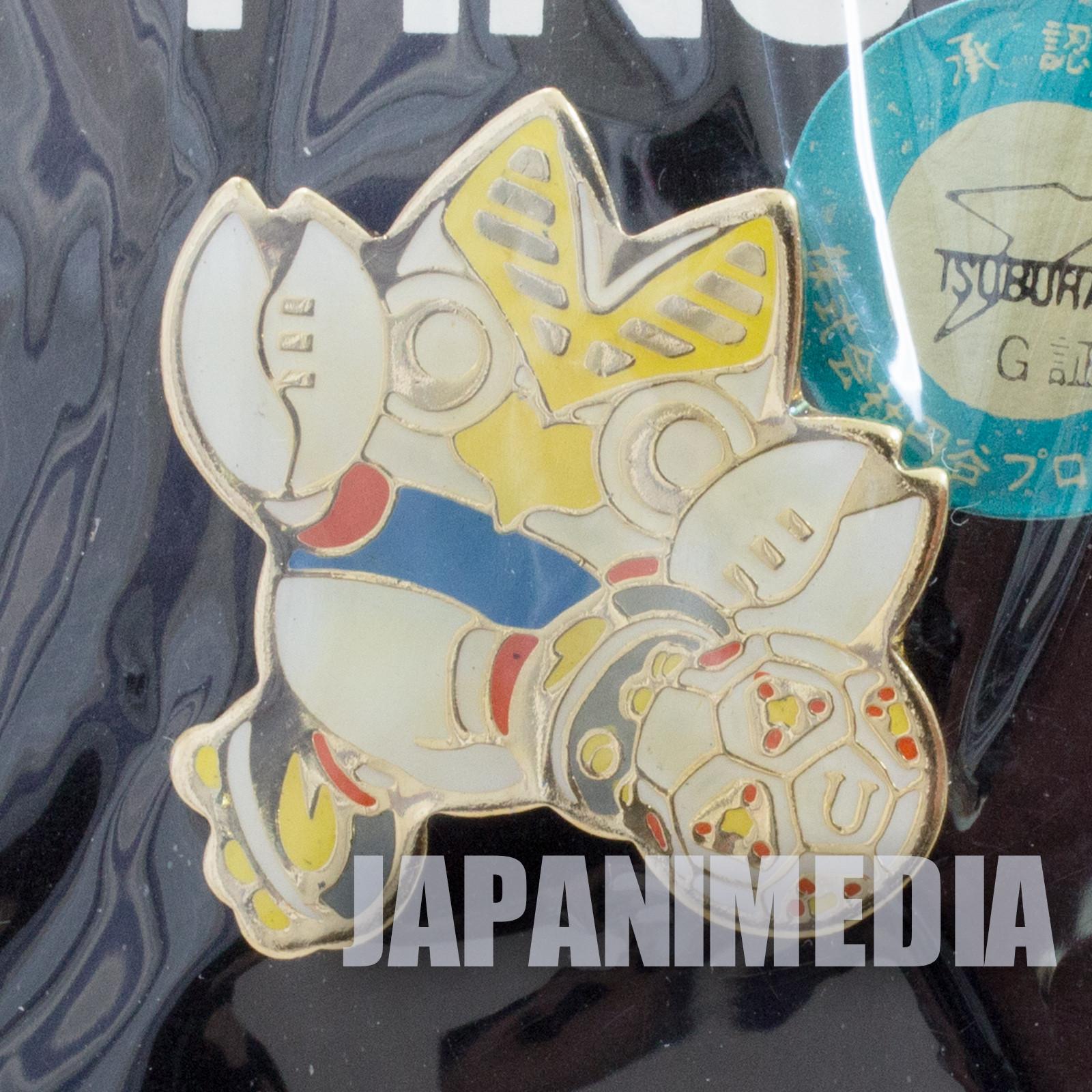 Ultraman Alien Baltan Football Metal Pins JAPAN TOKUSATSU ANIME