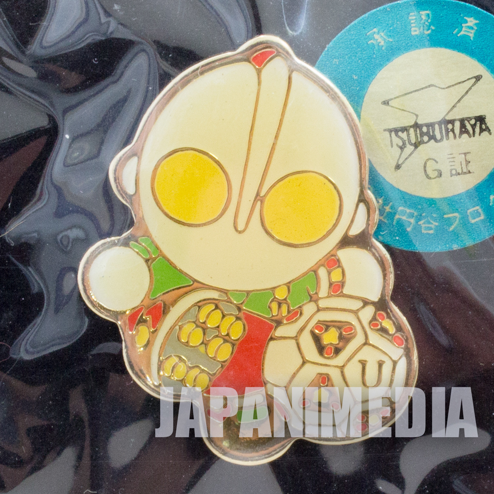Ultraman Football Metal Pins JAPAN TOKUSATSU ANIME
