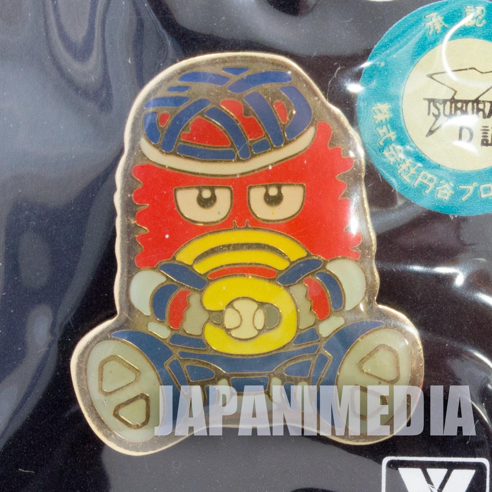 Ultraman Pigmon Baseball Metal Pins JAPAN TOKUSATSU ANIME