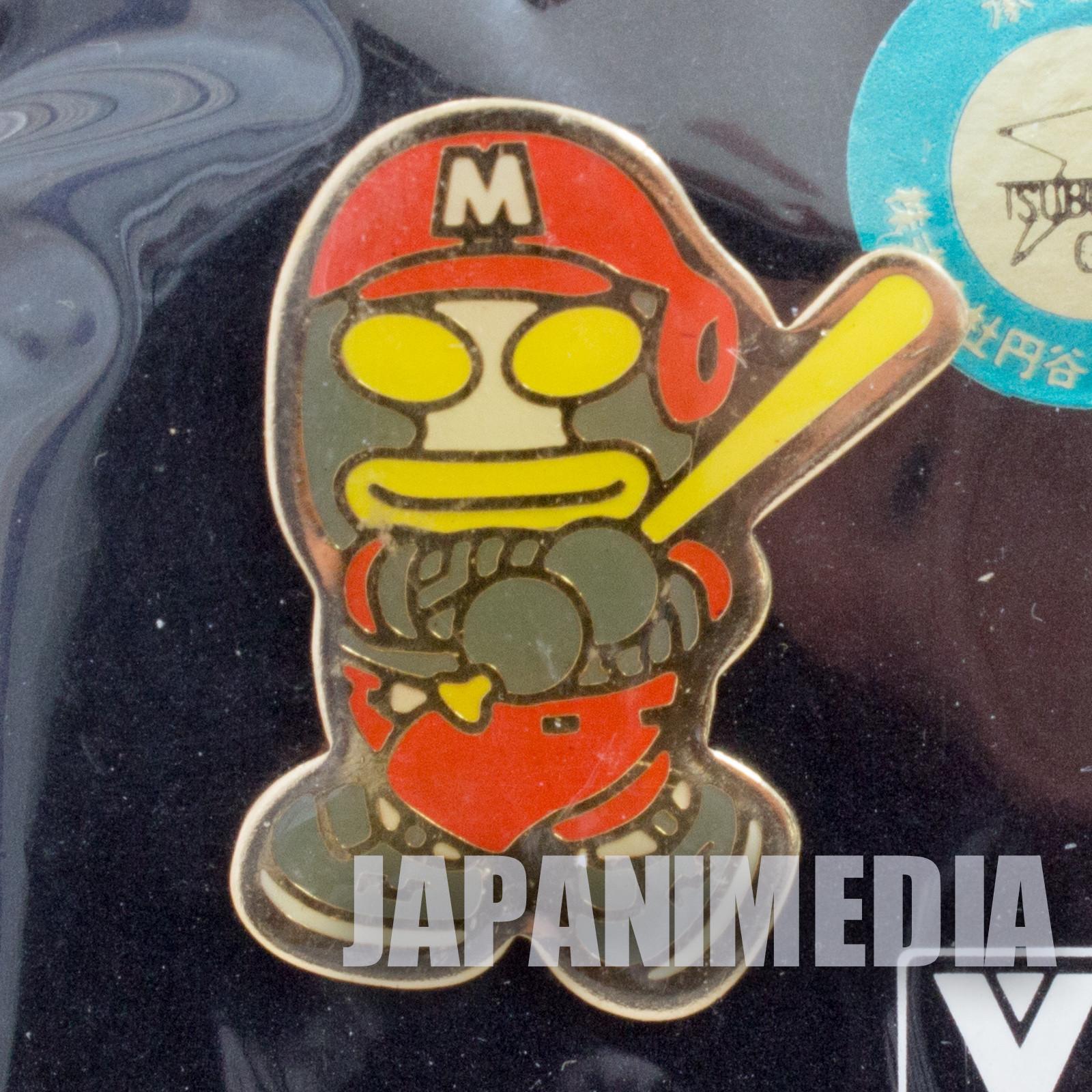 Ultraman Alien Dada Baseball Metal Pins JAPAN TOKUSATSU ANIME