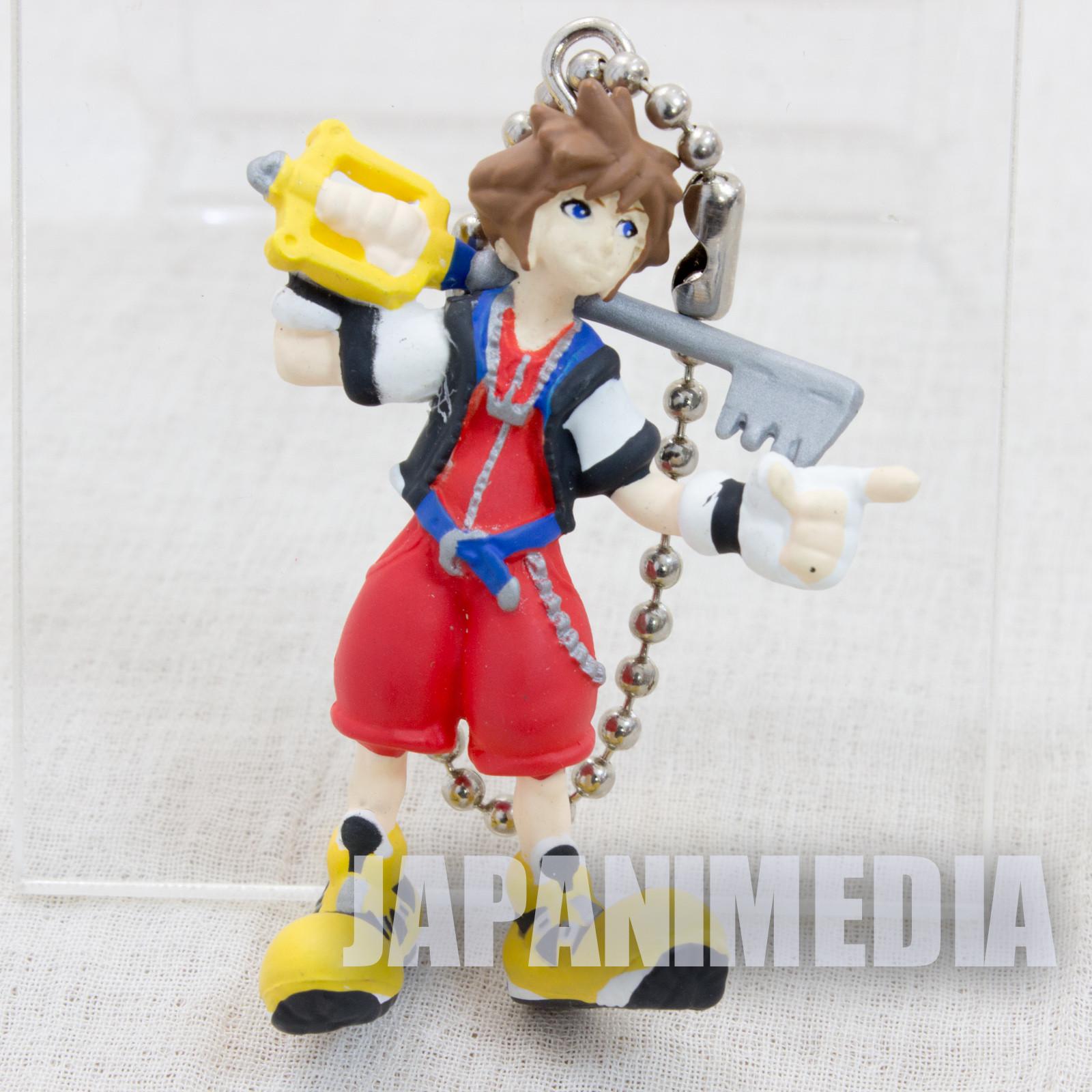 Kingdom Hearts SORA Mini Figure Ballchain Square Enix JAPAN