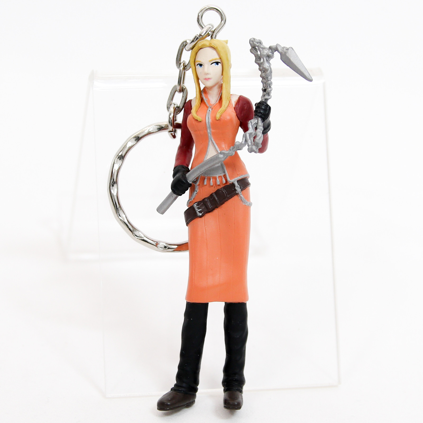 Final Fantasy VIII Quistis Trepe Figure Key Chain Banpresto JAPAN SQUARE ENIX