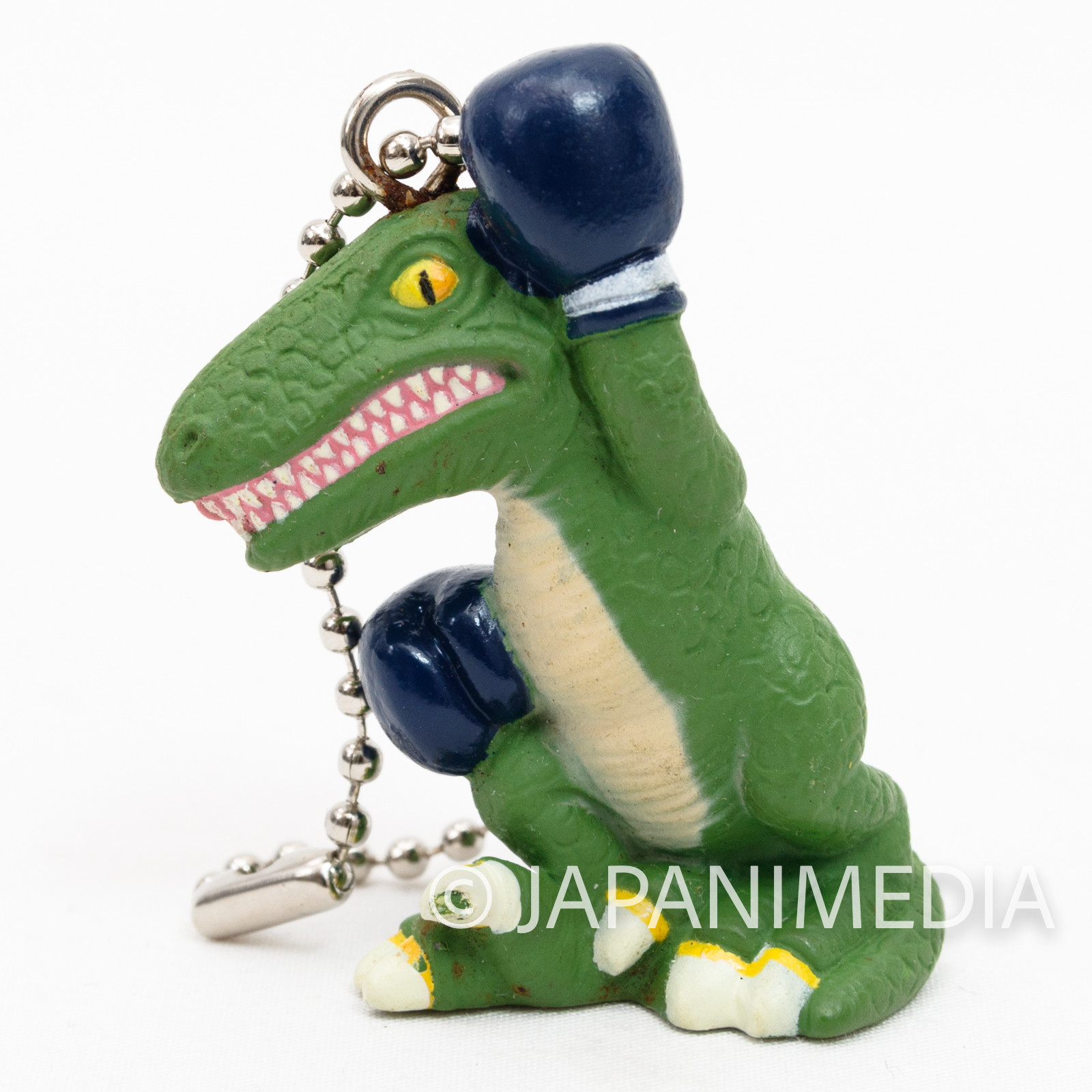 Retro Rare! Tekken Alex Crocodile Figure Ballchain Namco JAPAN GAME