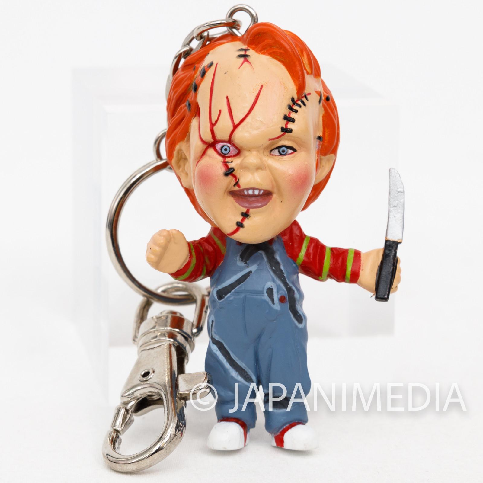 Bride of Chucky Chucky Little Big Head Figure Keychain Child's Play