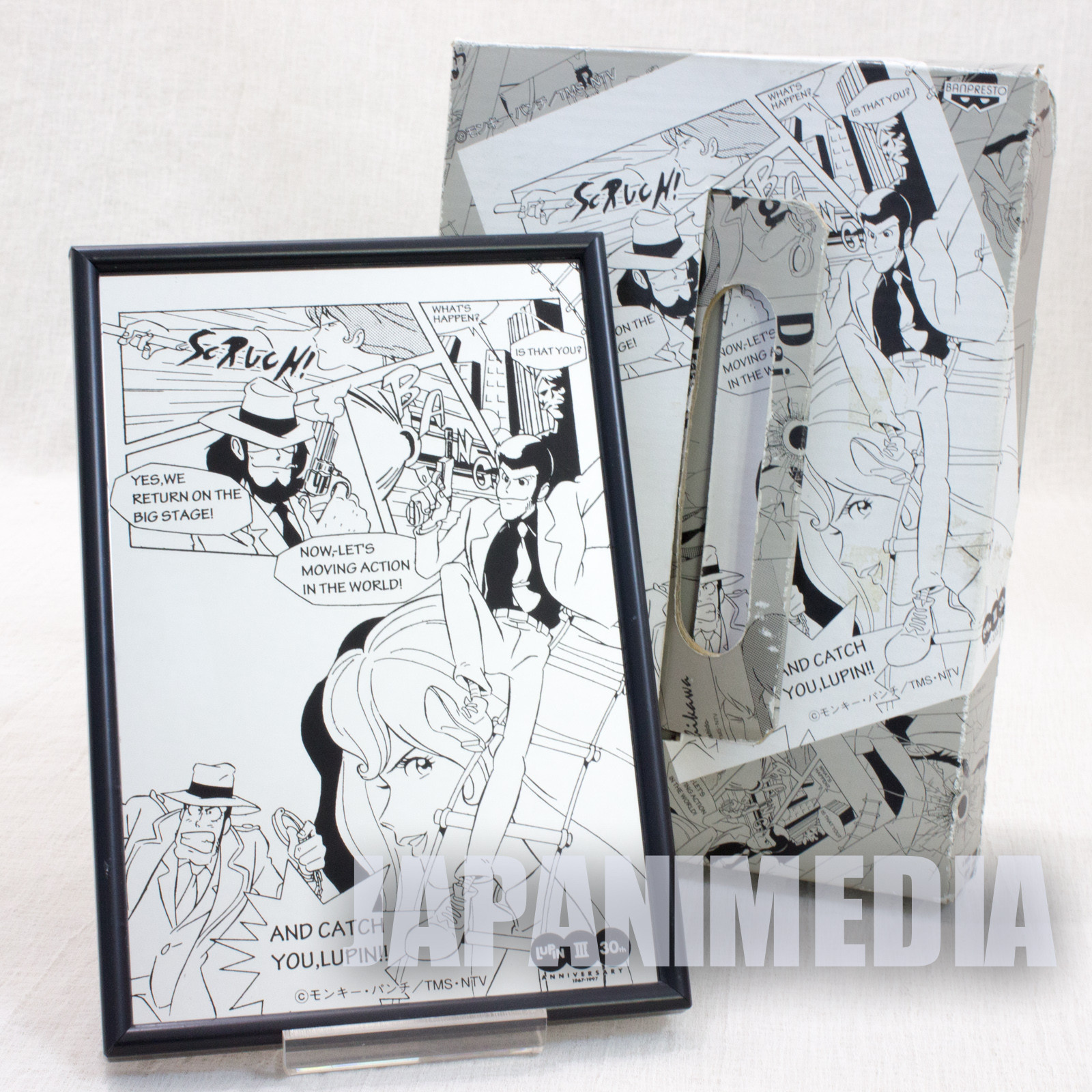 Lupin the 3rd Picture Mirror JAPAN ANIME MANGA THIRD