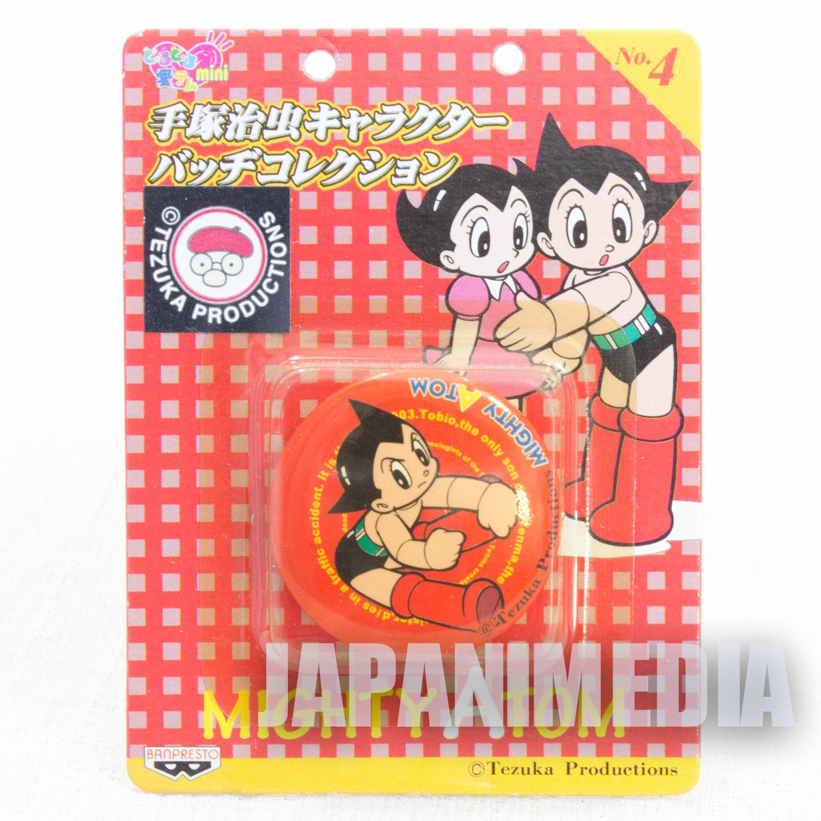 Astro Boy Atom Osamu Tezuka Character Button badge JAPAN 2