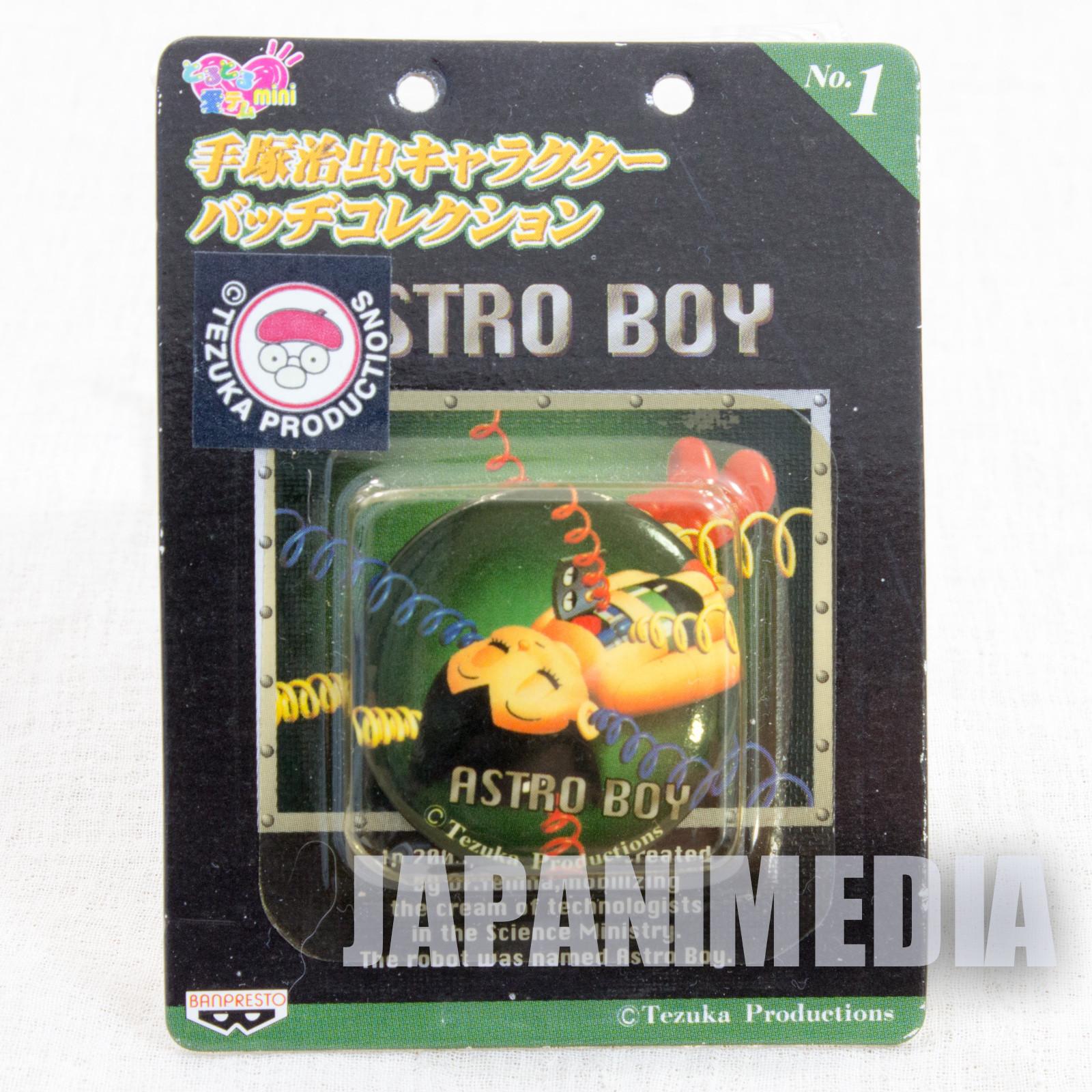 Astro Boy Atom Osamu Tezuka Character Button badge JAPAN 3