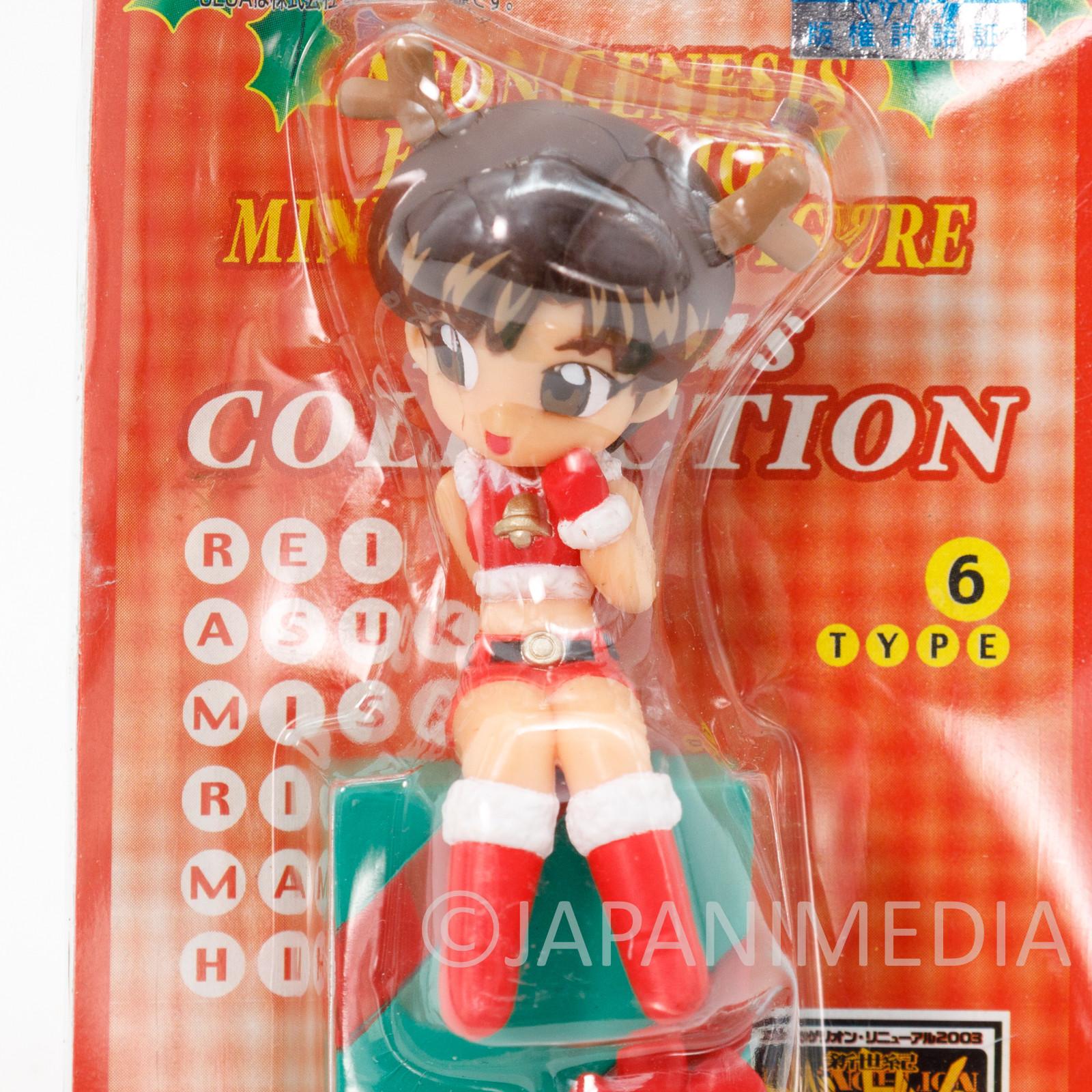 Evangelion Maya Ibuki Mini Display Figure Christmas ver. JAPAN ANIME