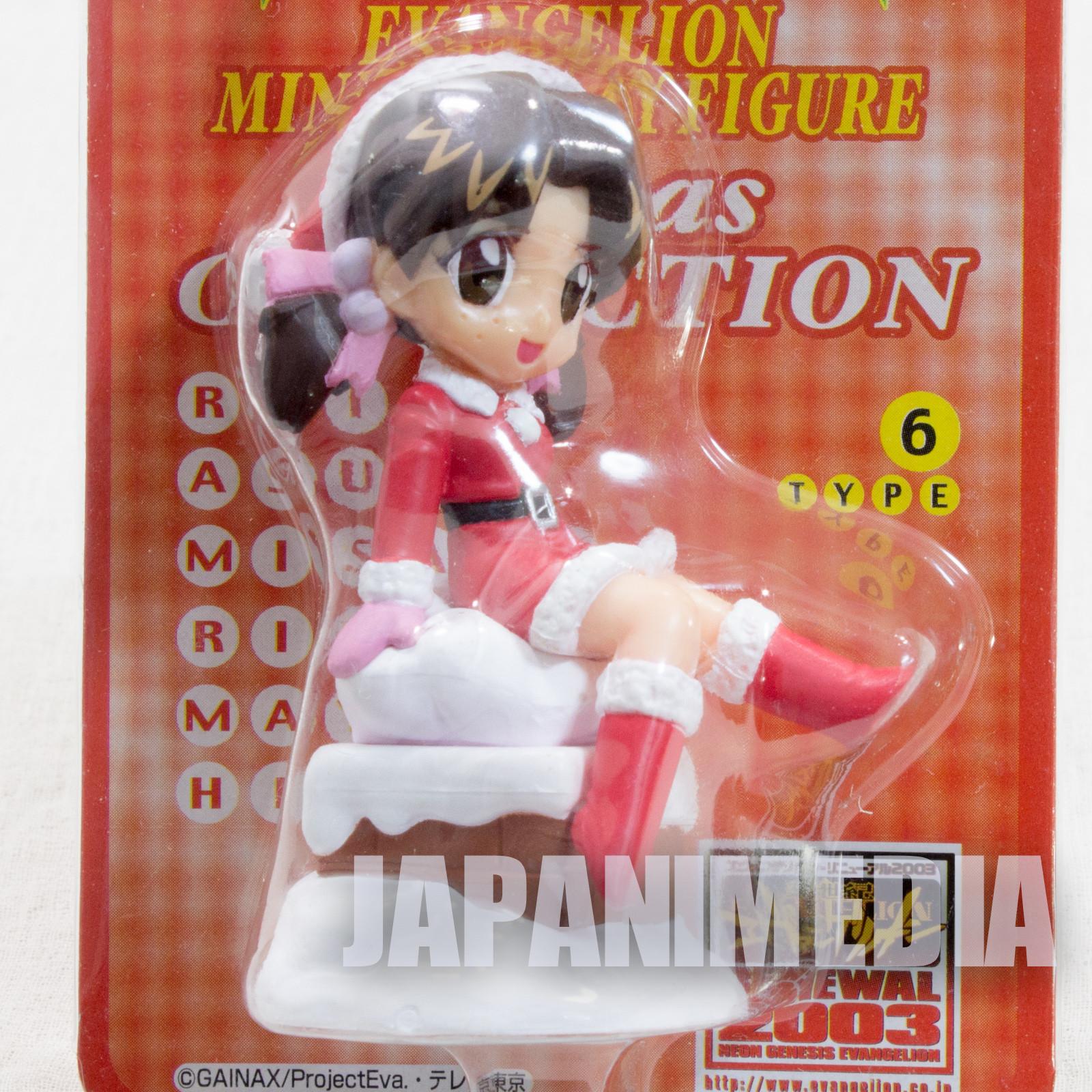 Evangelion Hikari Horaki Mini Display Figure Christmas ver. JAPAN ANIME