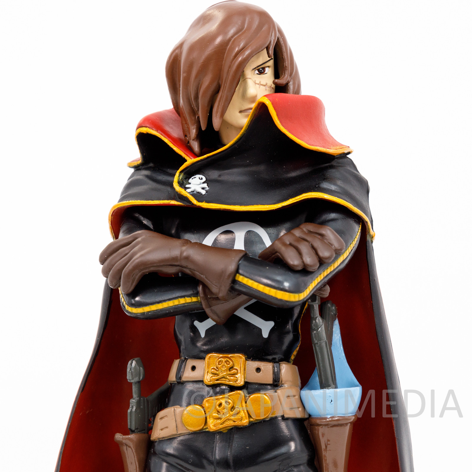 Galaxy Express 999 Captain Harlock Figure Reiji Matsumoto JAPAN ANIME