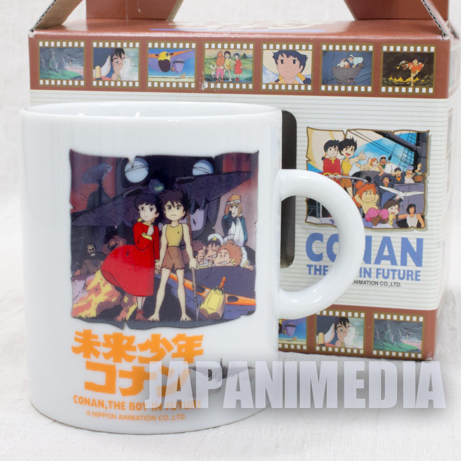 RARE! Future Boy Conan Mug JAPAN ANIME HAYAO MIYAZAKI