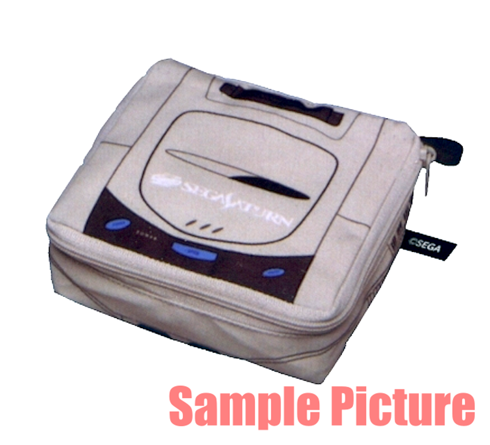 Sega Saturn SEGA Game Console Machine Type Pouch Case JAPAN GAME