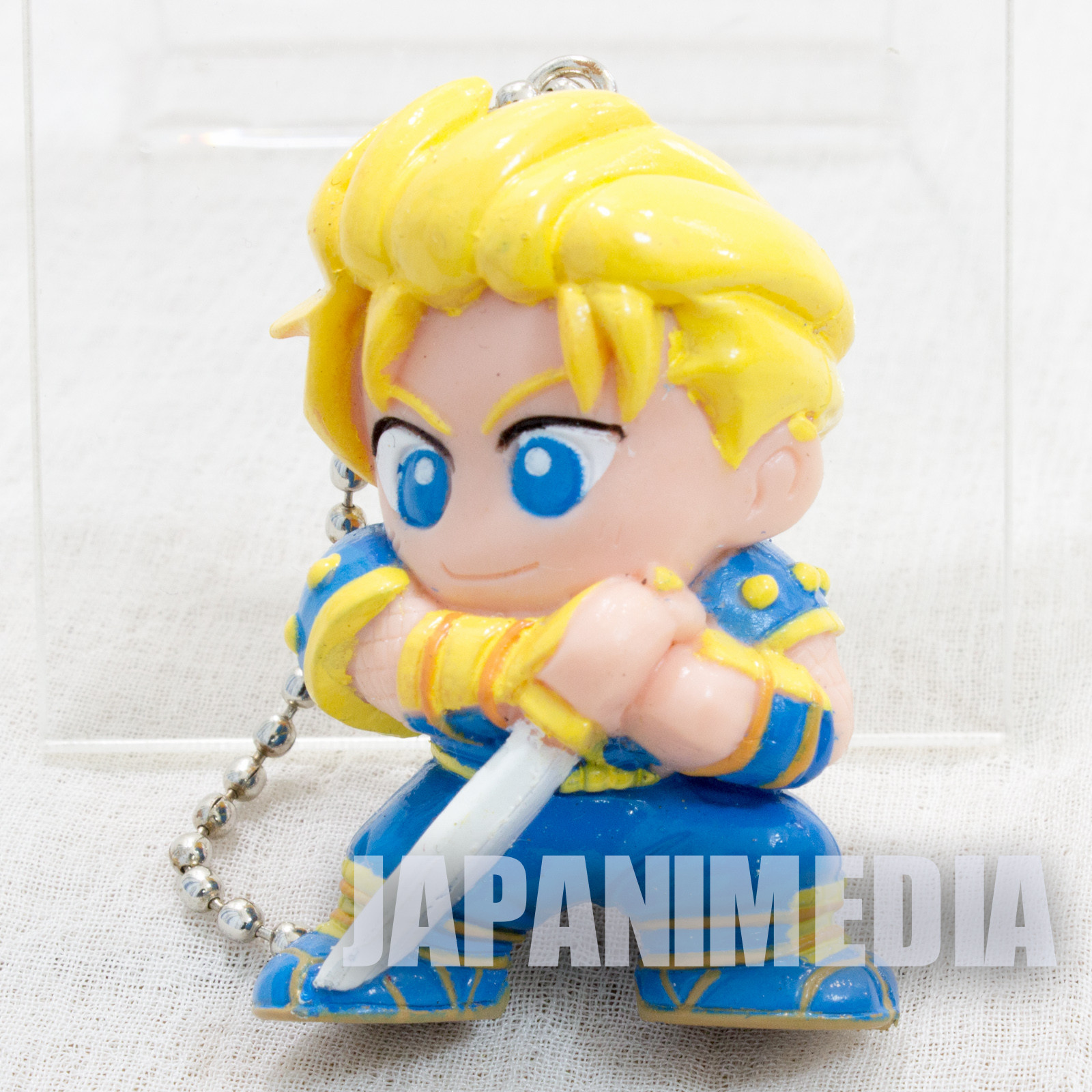 Samurai Shodown Galford Figure Key Chain SNK JAPAN