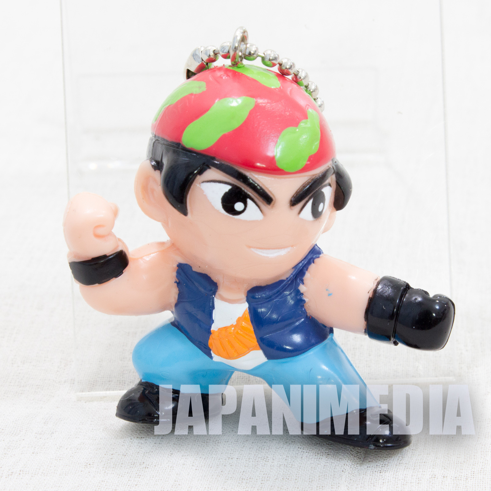 KOF King of Fighters Ralf Jones Figure Key Chain SNK JAPAN