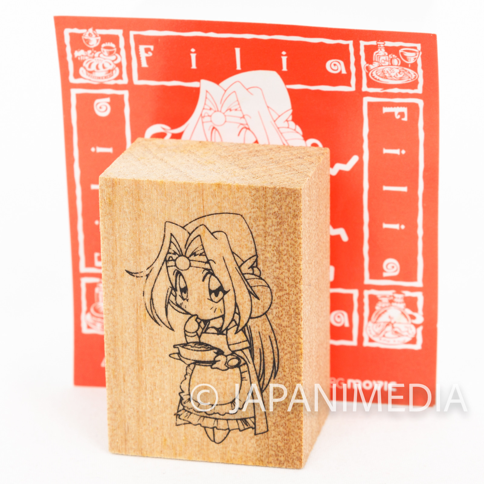 Slayers TRY Filia ul Copt Stamp JAPAN ANIME