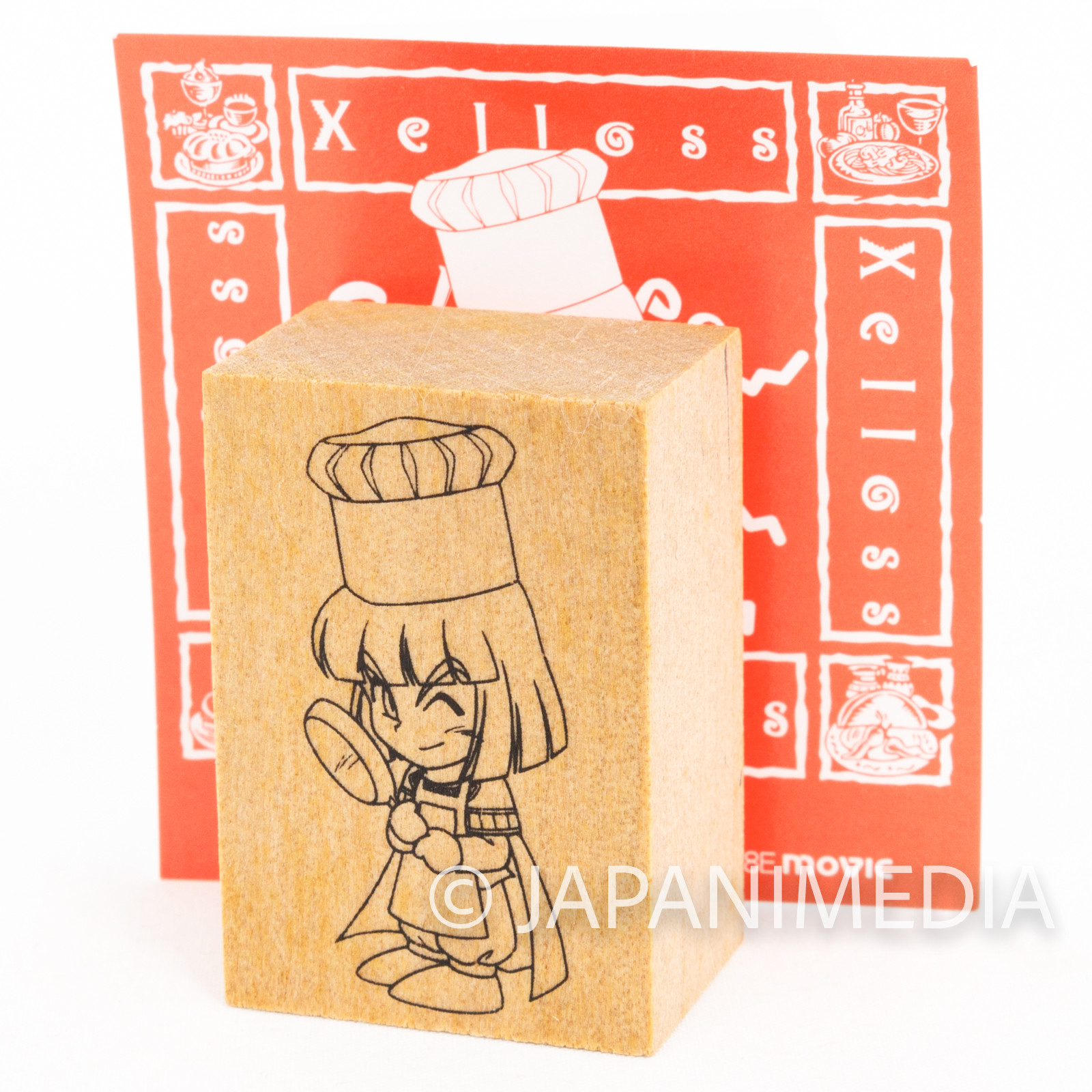 Slayers TRY Xelloss Stamp JAPAN ANIME
