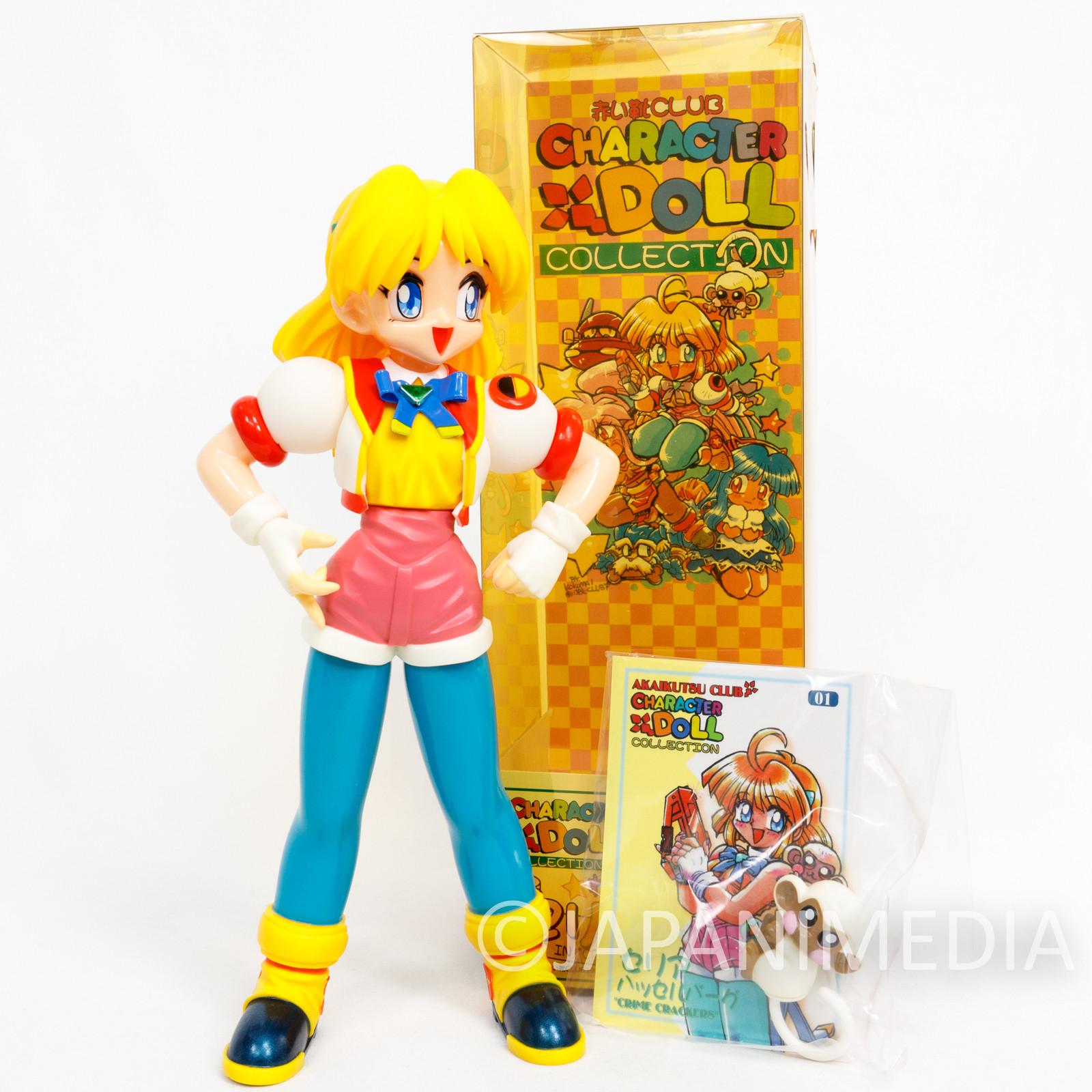 Crime Crackers 2 Seria Soft Vinyl Figure PS2 GAME Character JAPAN