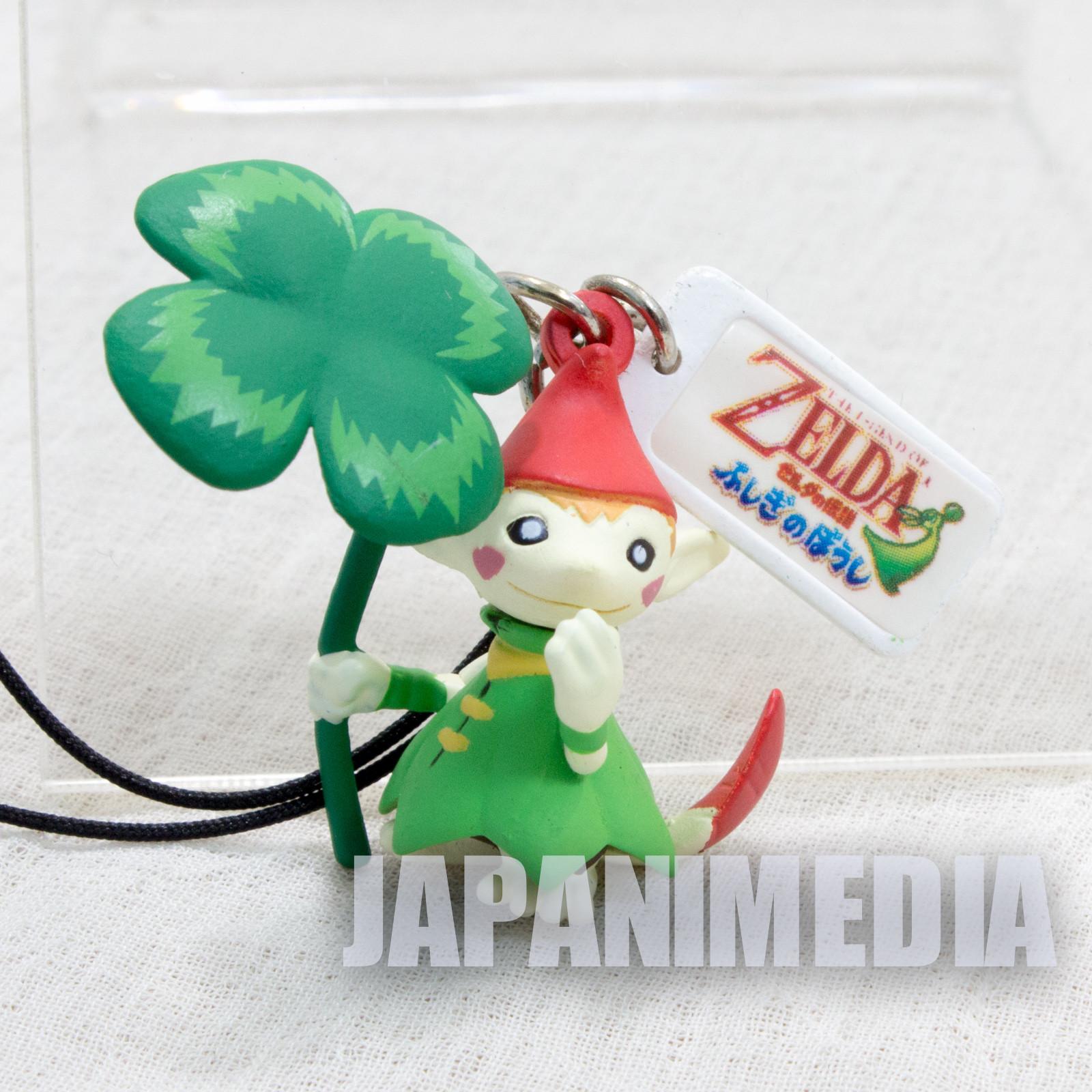 The Legend of Zelda Minish Cap Forest Picori Figure Strap Nintendo JAPAN