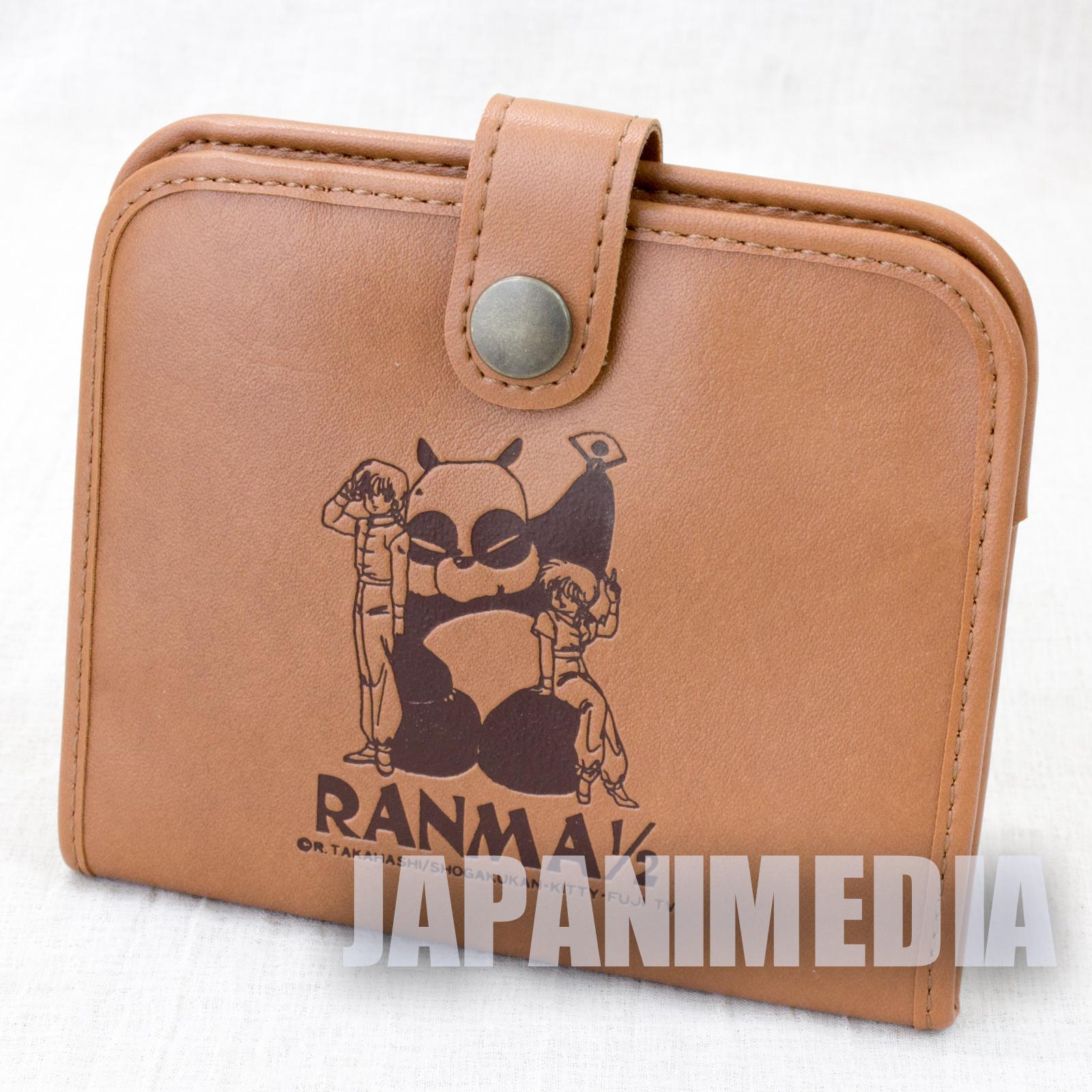 Retro RARE! Ranma 1/2 Folded Wallet JAPAN ANIME RUMIKO TAKAHASHI