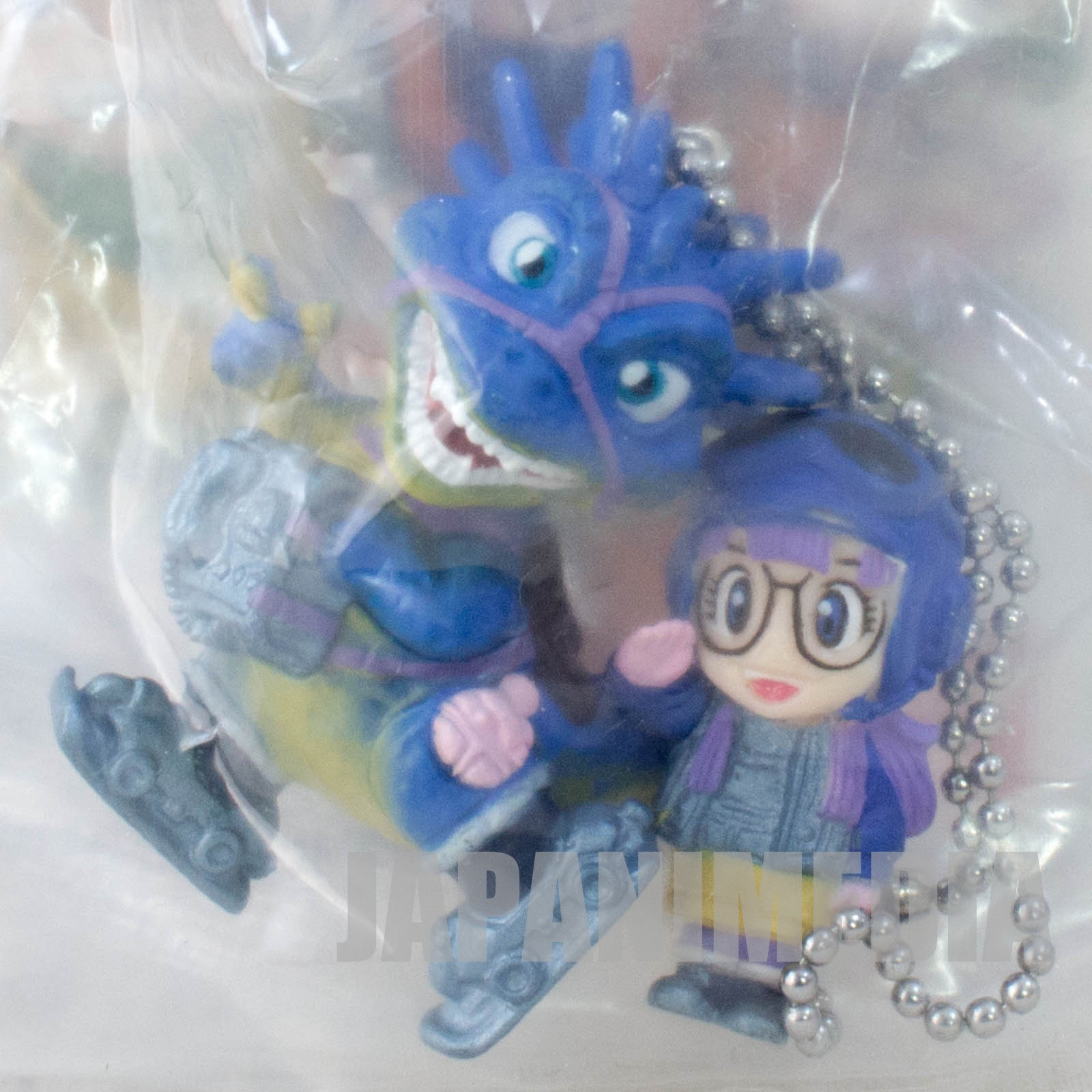 Dragon Ball x BLUE DRAGON Arale & Dragon Double Ball Key Chain JAPAN ANIME MANGA