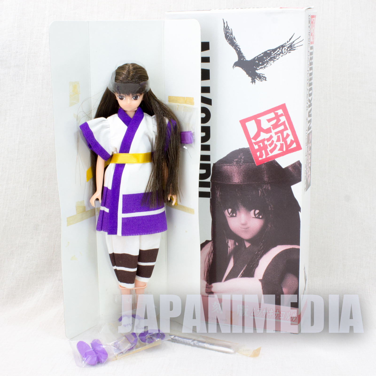 Samurai Shodown Purple Nakoruru Doll Figure TAKARA SNK JAPAN