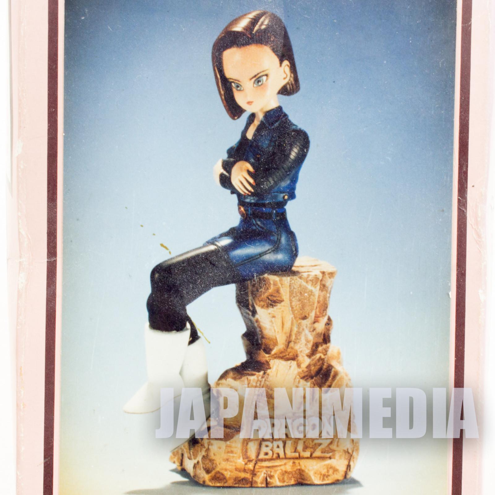 RARE! Dragon Ball Z Android #18 Soft Vinyl Model Kit ELFIN