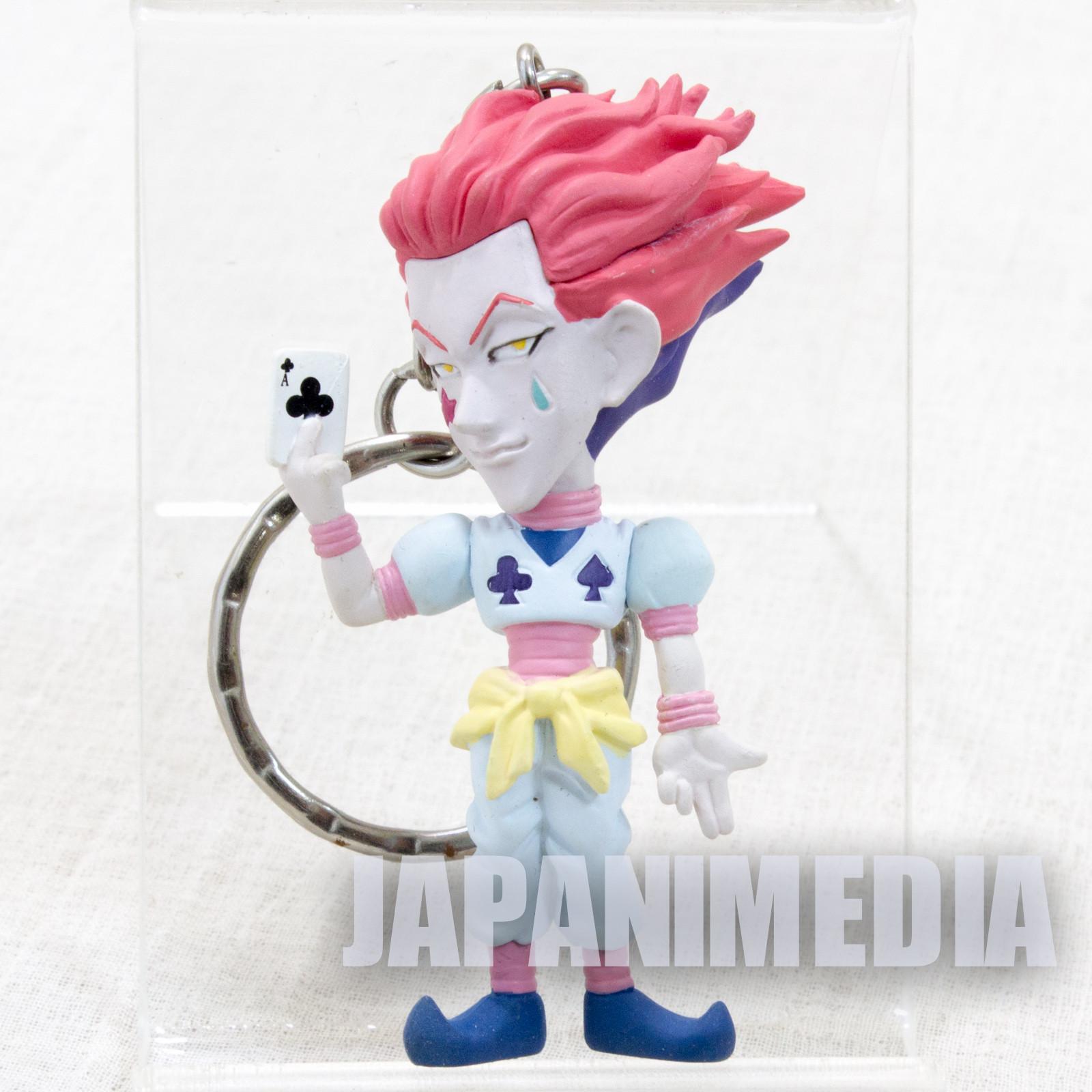 RARE! HUNTER x HUNTER Hisoka Mini Figure Key Holder Chain JAPAN ANIME 2