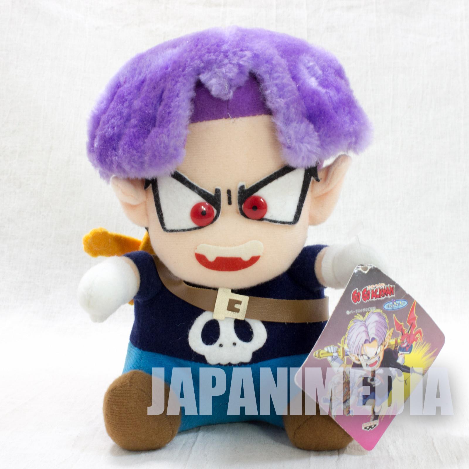 Go! Go! Ackman ACKMAN Plush Doll V-JUMP Toriyama Akira JAPAN ANIME MANGA