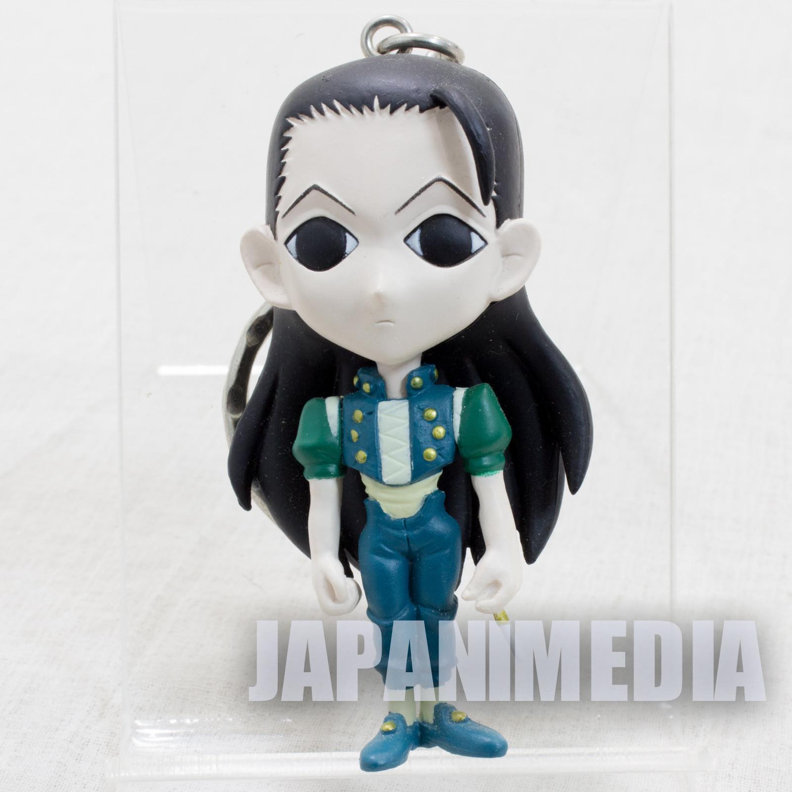 RARE! HUNTER x HUNTER Illumi Zoldyck Mini Figure Key Holder Chain JAPAN ANIME 2