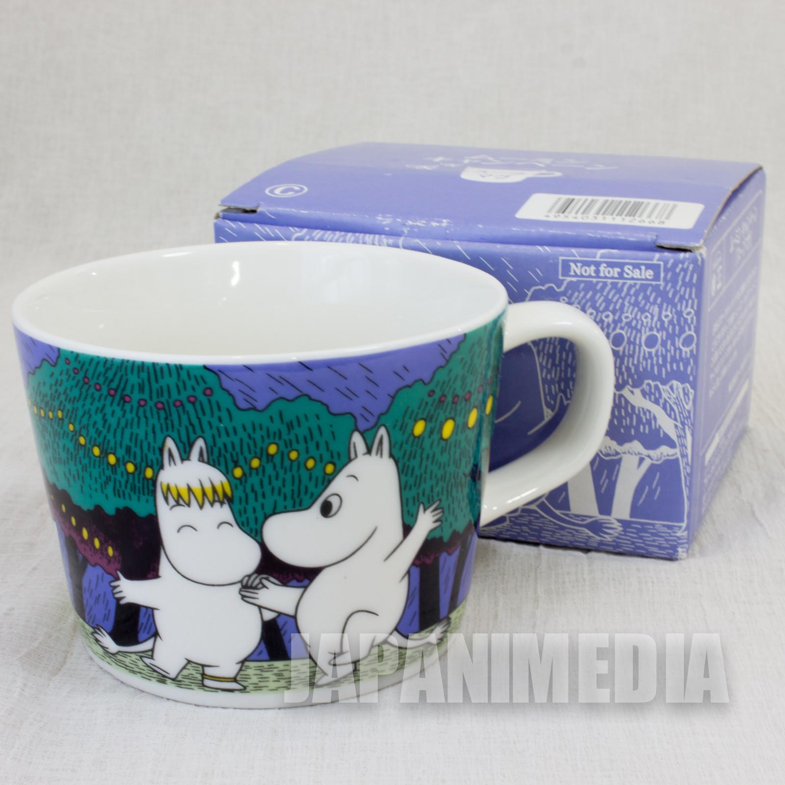 Moomin Soup Mug #C Circle K Sunkus Japan