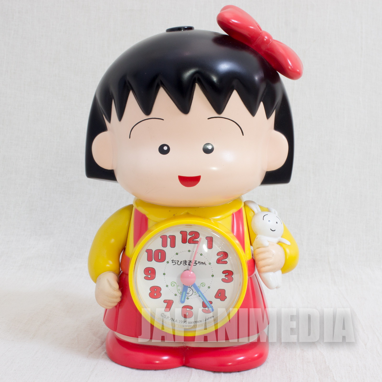 Retro Rare Chibi maruko Chan Figure Voice Sound Alarm Clock JAPAN ANIME