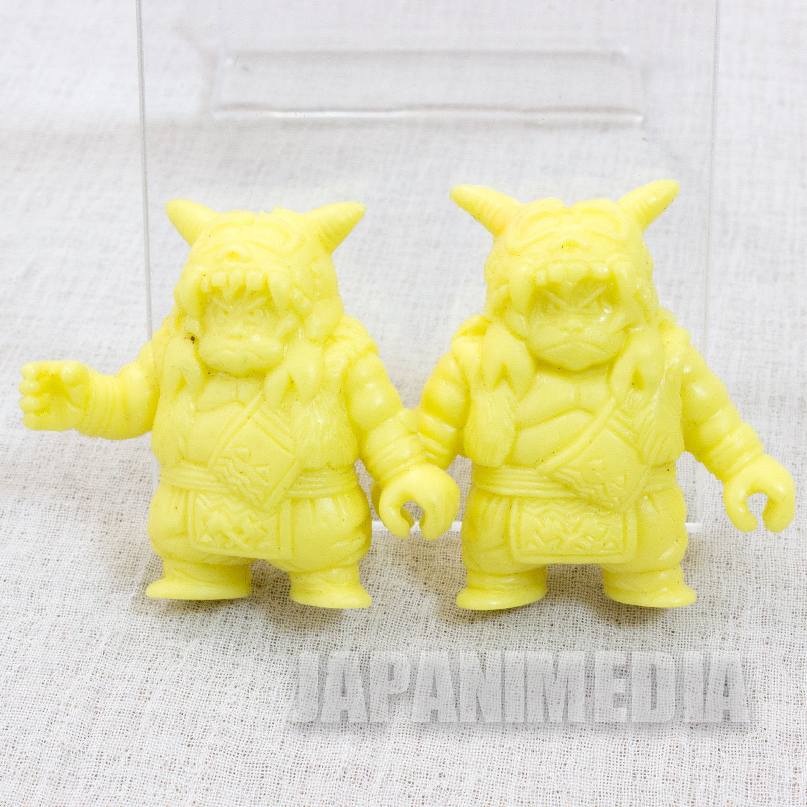 RARE Dragon Quest : Legend of the Hero Abel Mokomoko Mini Rubber Figure 2pc Set