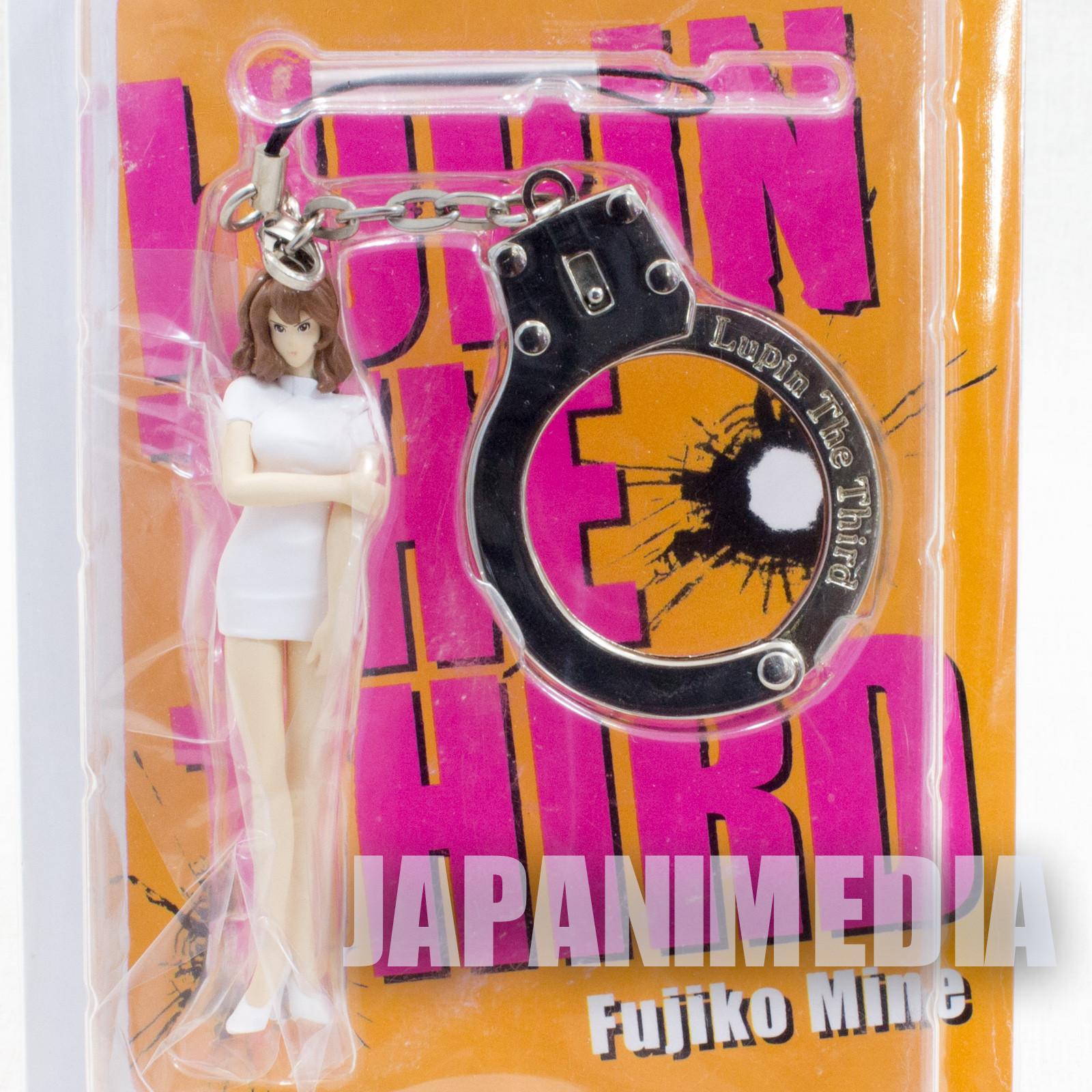 Lupin the Third (3rd) Fujiko Mine Handcuff & Figure Strap Banpresto JAPAN ANIME MANGA