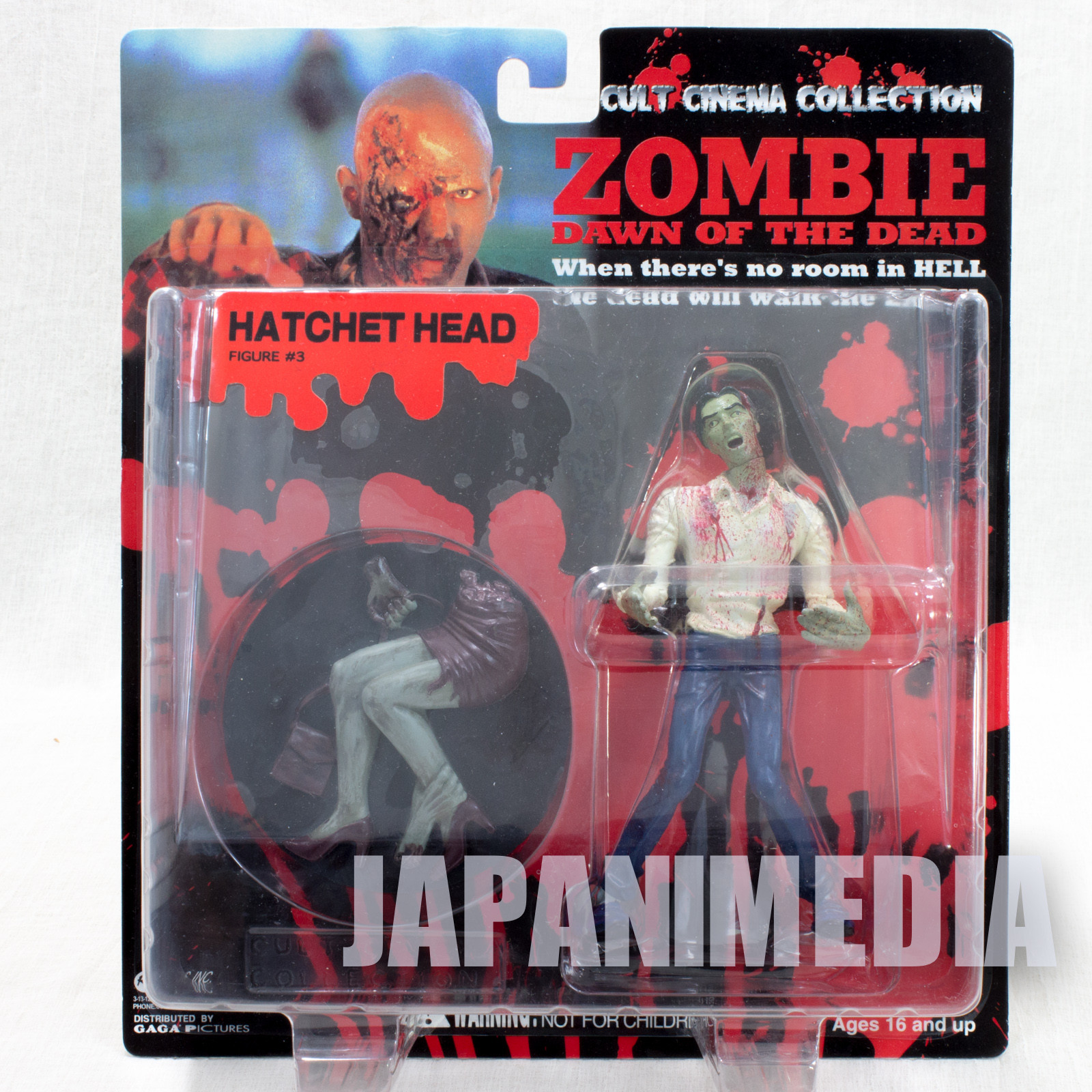 Zombie Dawn of the Dead Hatchet Head Figure Cult Cinema Collection