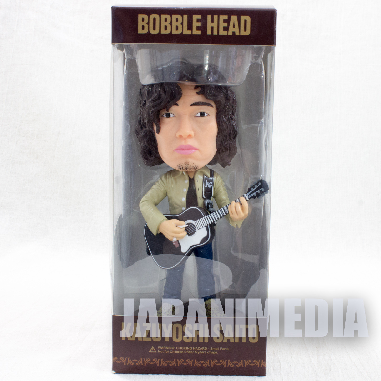 Kazuyoshi Saito Bobble Head Figure JAPAN BOBBIN