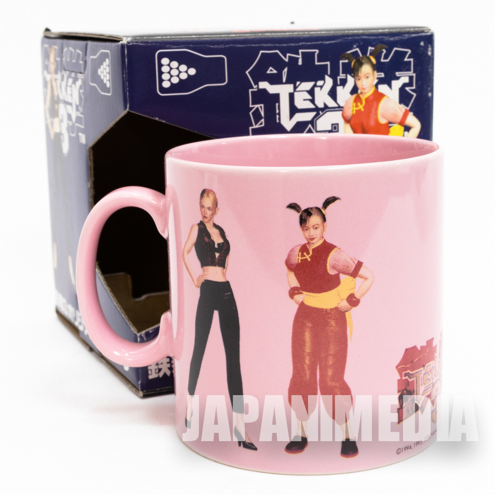 Tekken 3 Nina Williams Ling Xiaoyu Mug Namco JAPAN GAME