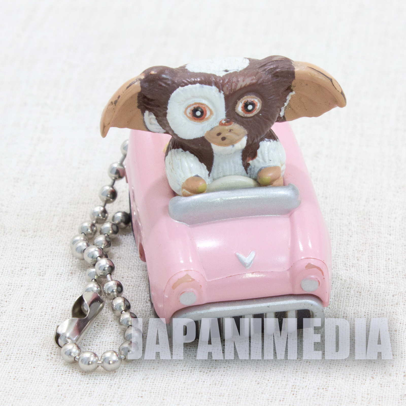Gremlins Gizmo on Car Mascot Figure Ballchain JAPAN