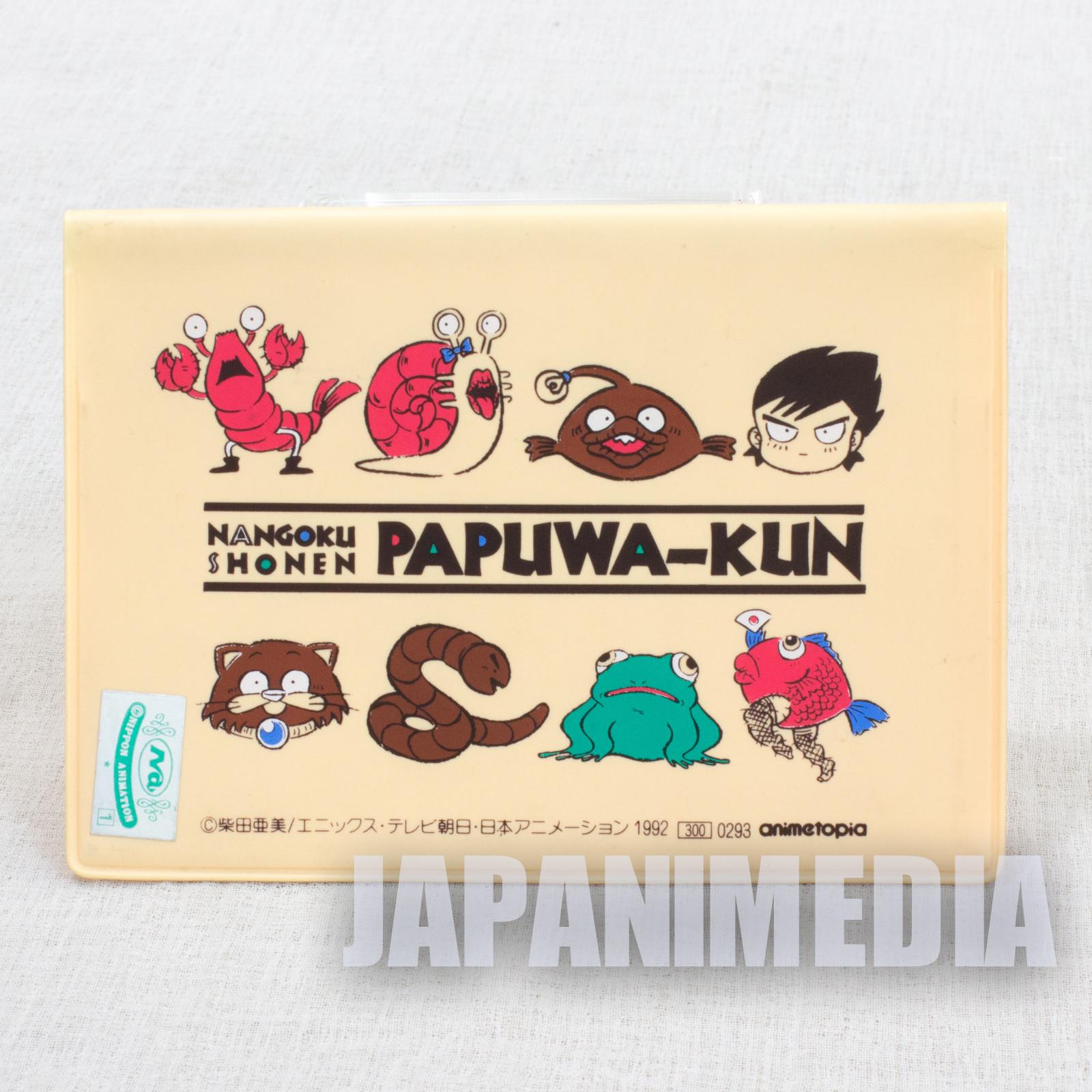 Nangoku Shonen PAPUWA Kun Card Case Holder JAPAN ANIME MANGA