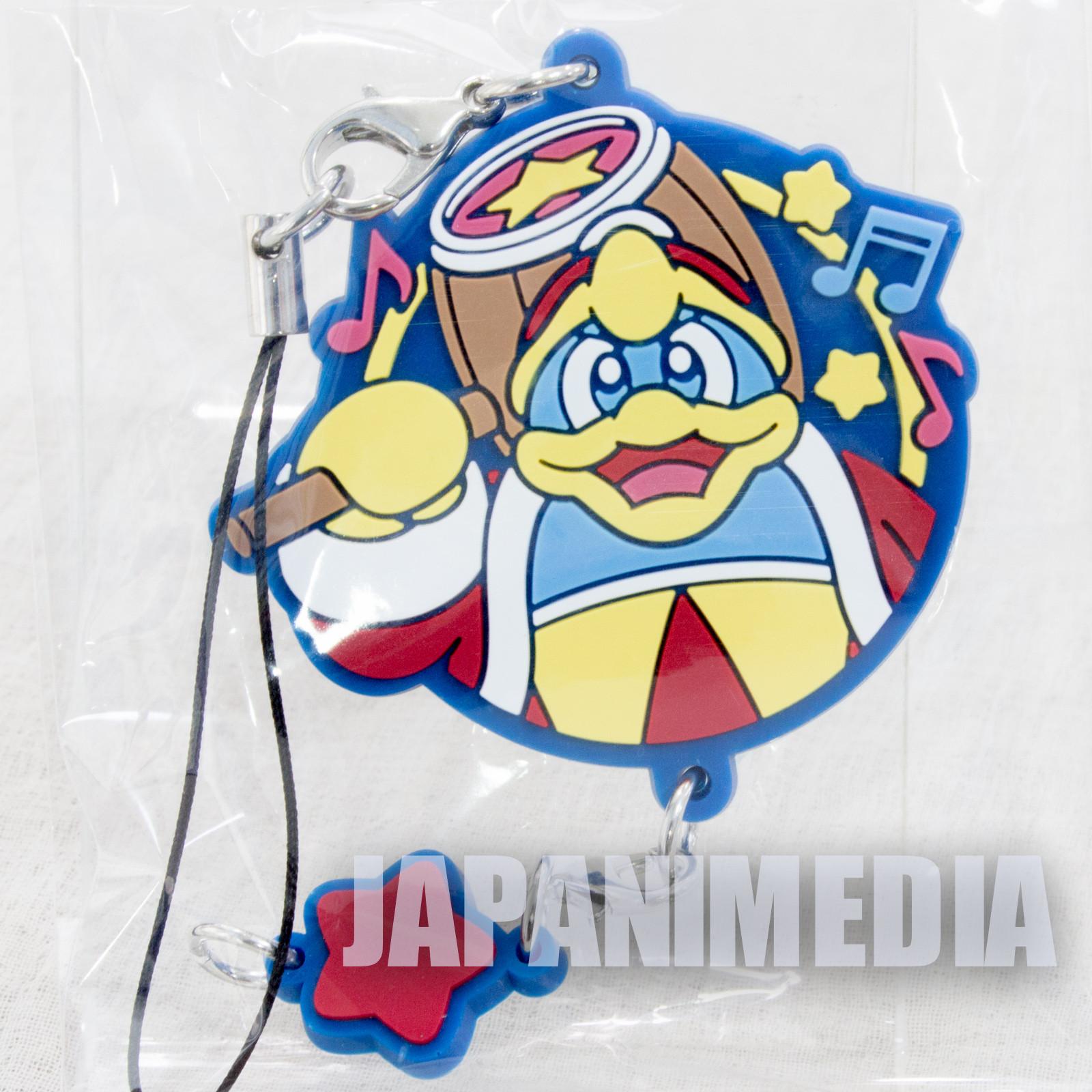 Kirby Super Star Mascot Rubber Strap Dedede King ver. Banpresto JAPAN NINTNEDO