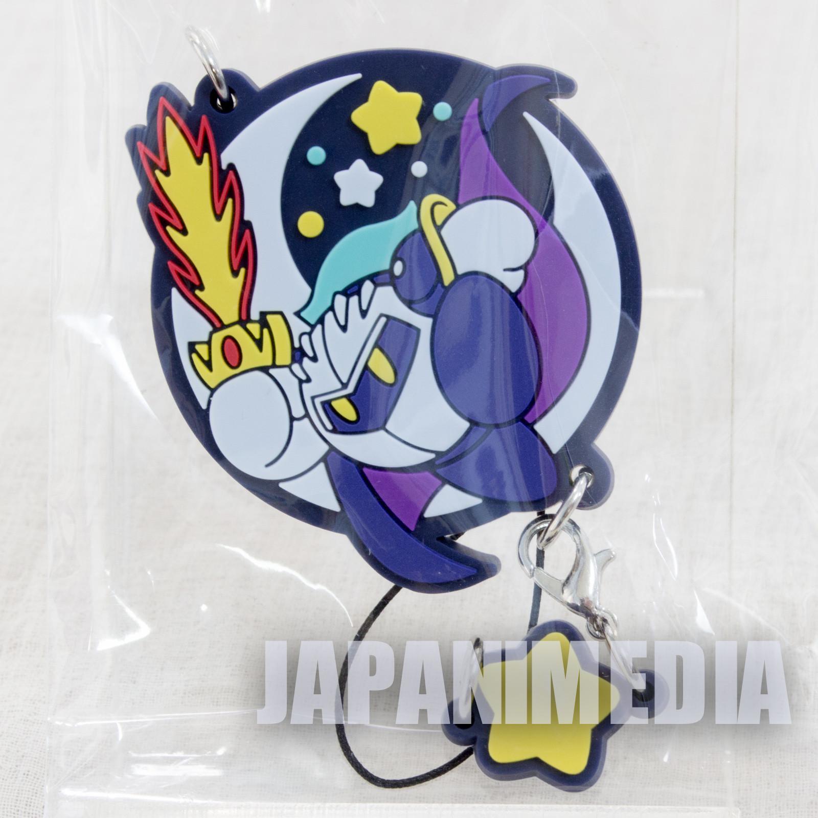Kirby Super Star Mascot Rubber Strap Meta Knight ver. Banpresto JAPAN NINTNEDO