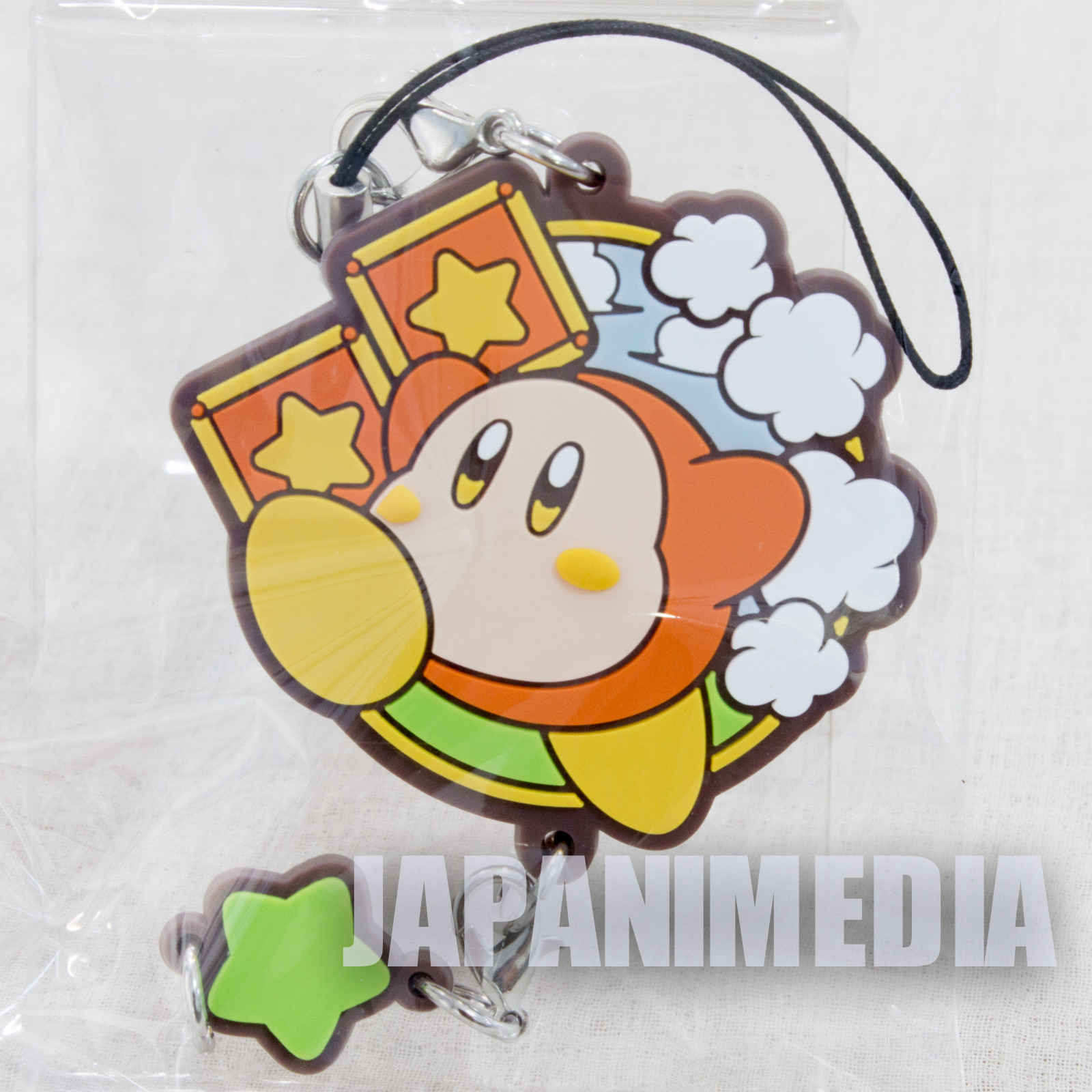 Kirby Super Star Mascot Rubber Strap Waddle Dee ver. Banpresto JAPAN NINTNEDO