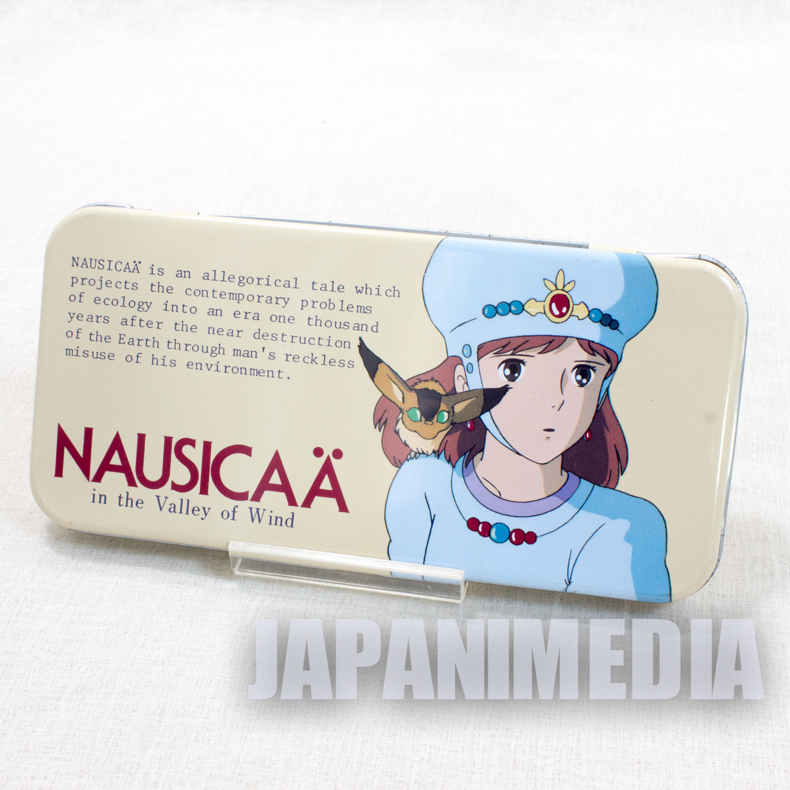 Retro RARE Nausicaa of the Valley Can Pen Case Movic Ghibli JAPAN ANIME 5