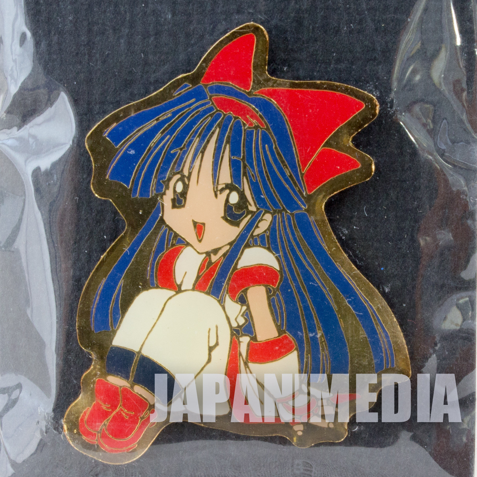 Samurai Shodown Nakoruru Metal Pins SNK JAPAN NEOGEO