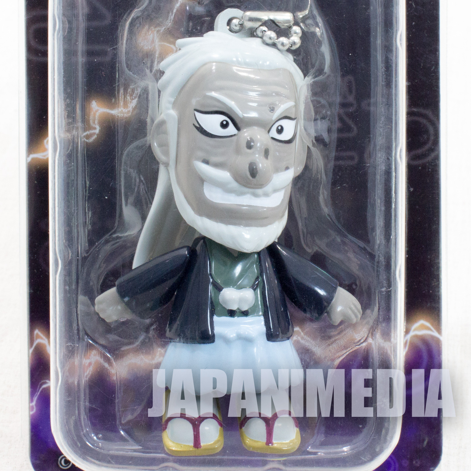 RARE! KAIJI Ultimate Survivor President Hyodo Figure Ballchain JAPAN ANIME MANGA