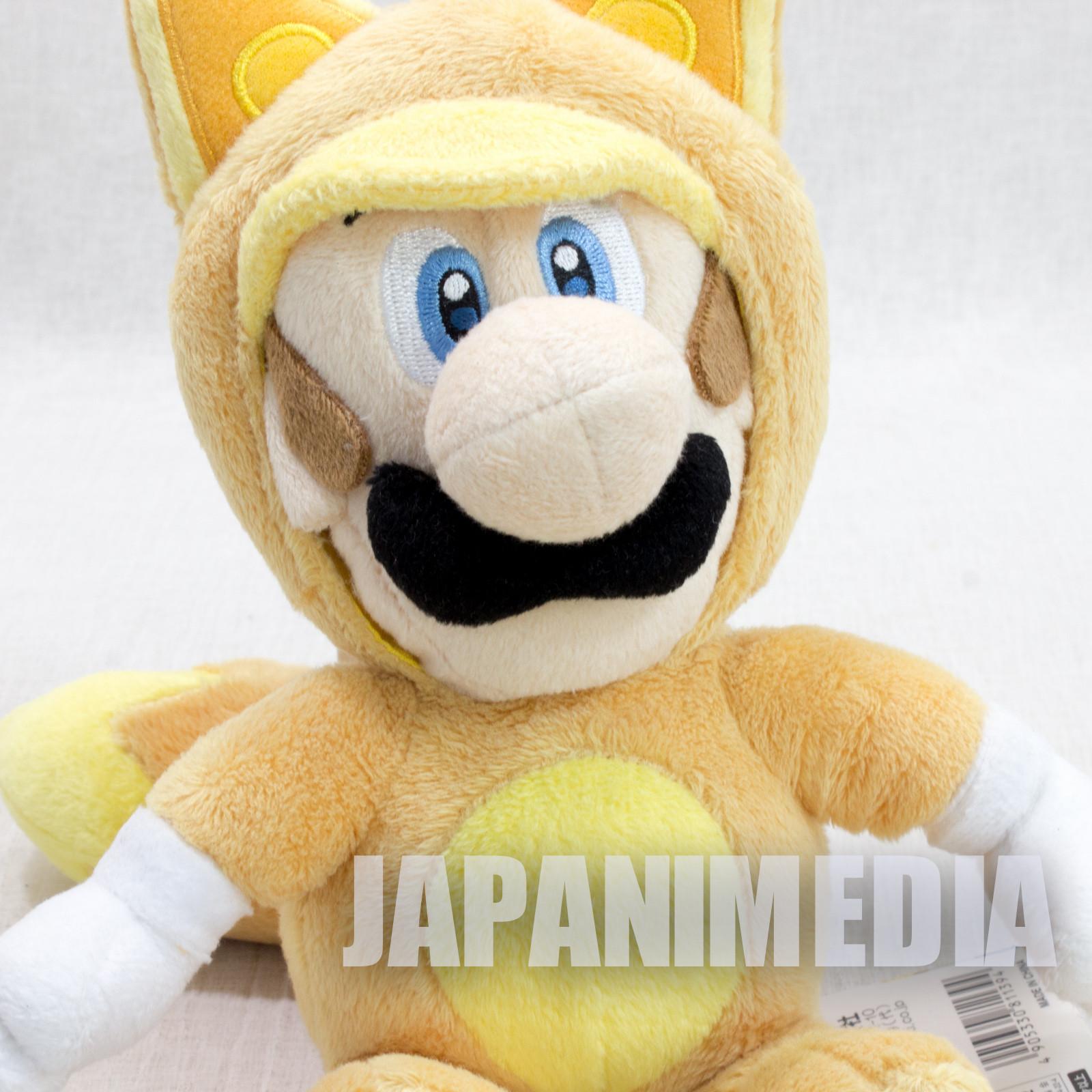 "Super Mario 3D Land Fox Luigi Plush Doll 8"" JAPAN GAME NINTENDO"